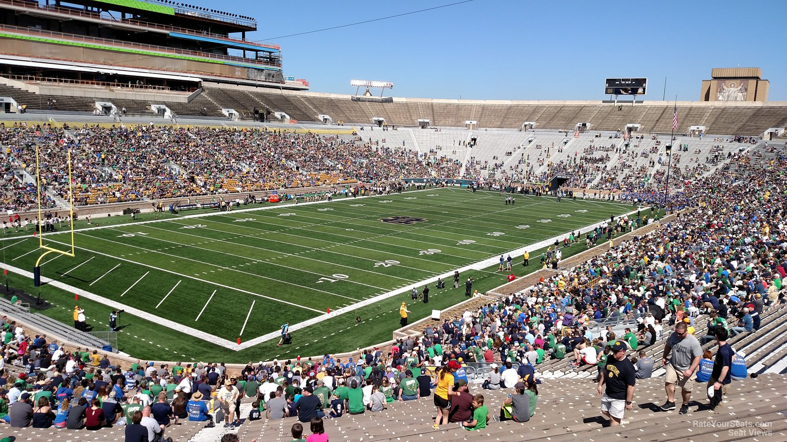 Notre Dame Stadium Section 16 Rateyourseatscom