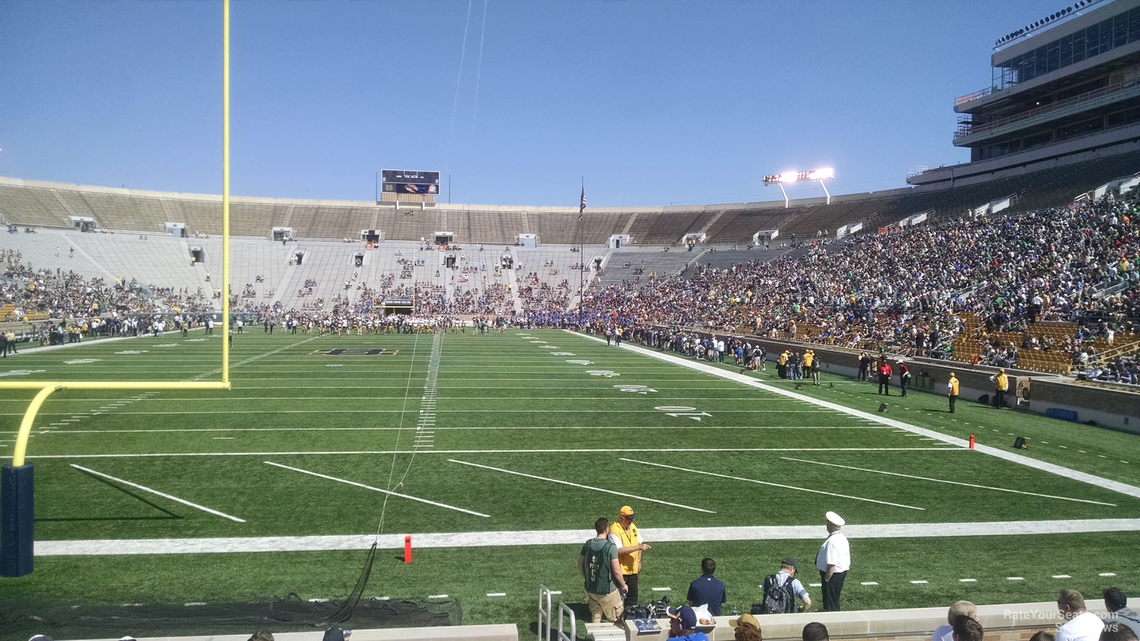 Notre Dame Stadium Section 18 - RateYourSeats.com