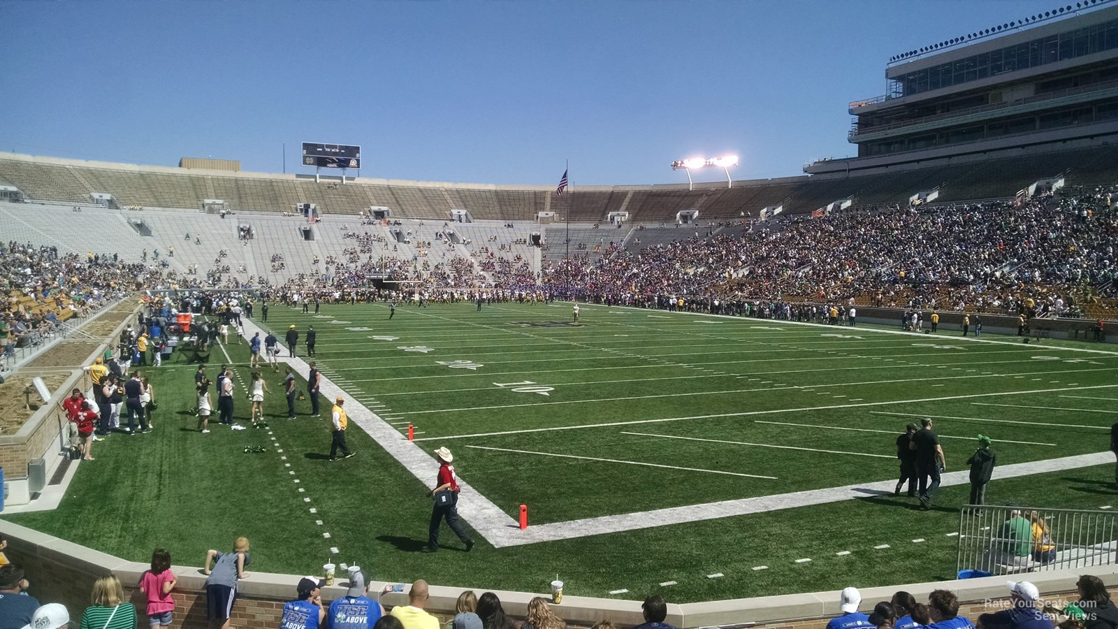 Section 22 at Notre Dame Stadium - RateYourSeats.com