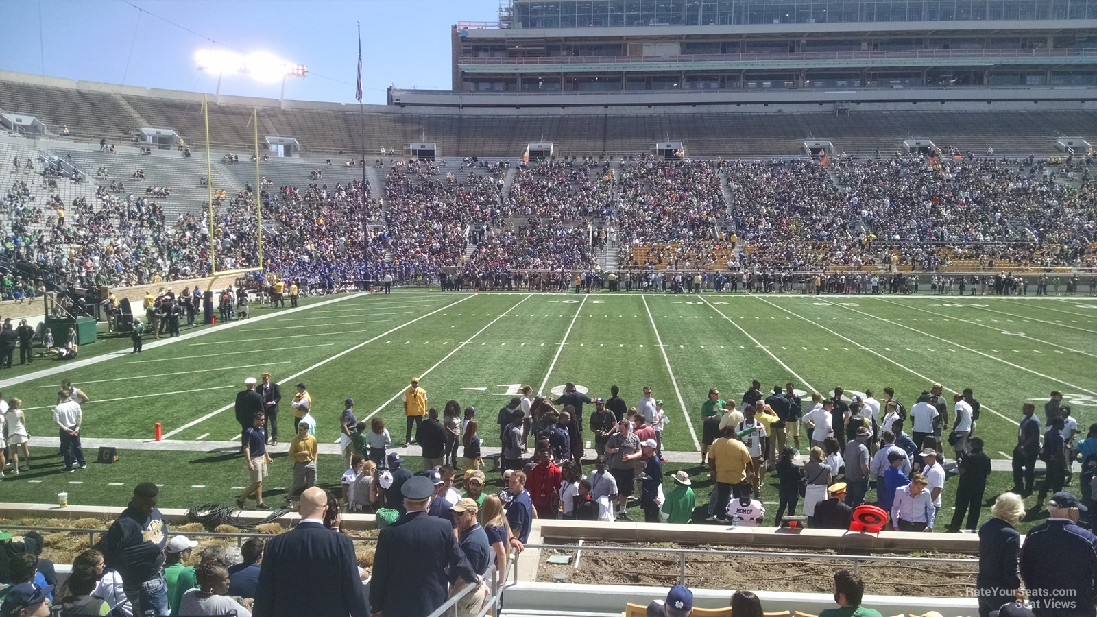 Seat View For Notre Dame Stadium Section 30