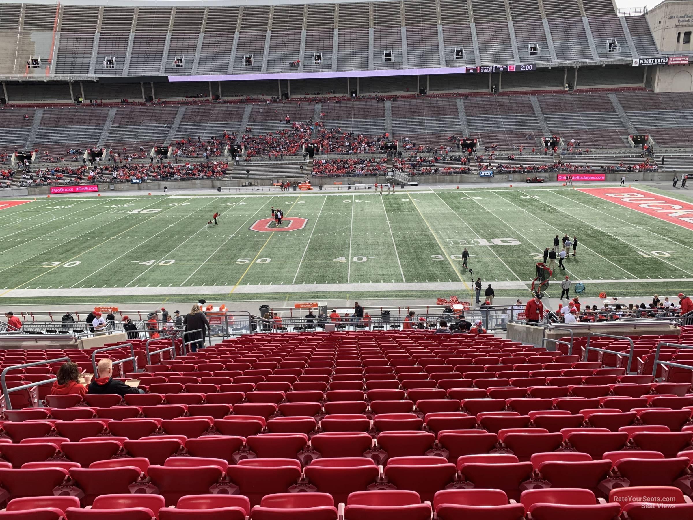 Ohio Stadium Club 4 Rateyourseatscom