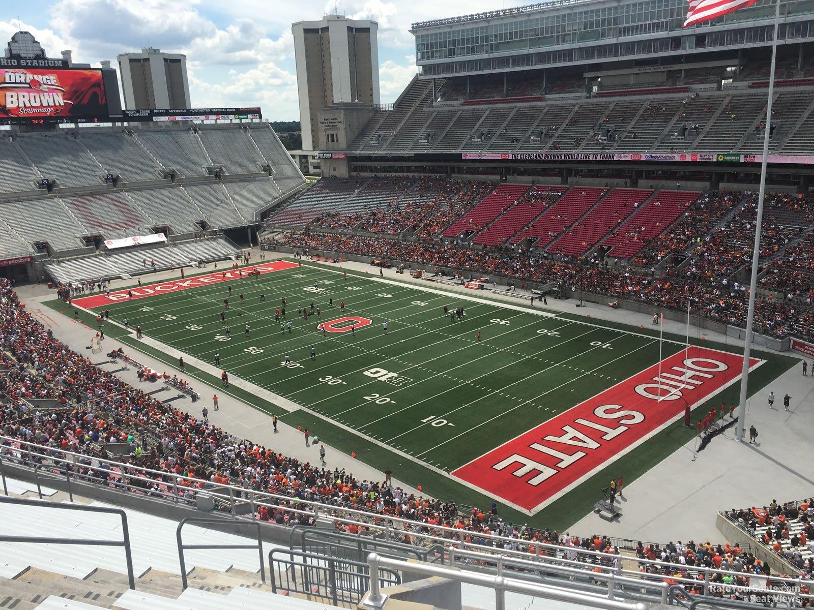 Ohio Stadium Section 12c Rateyourseats Com