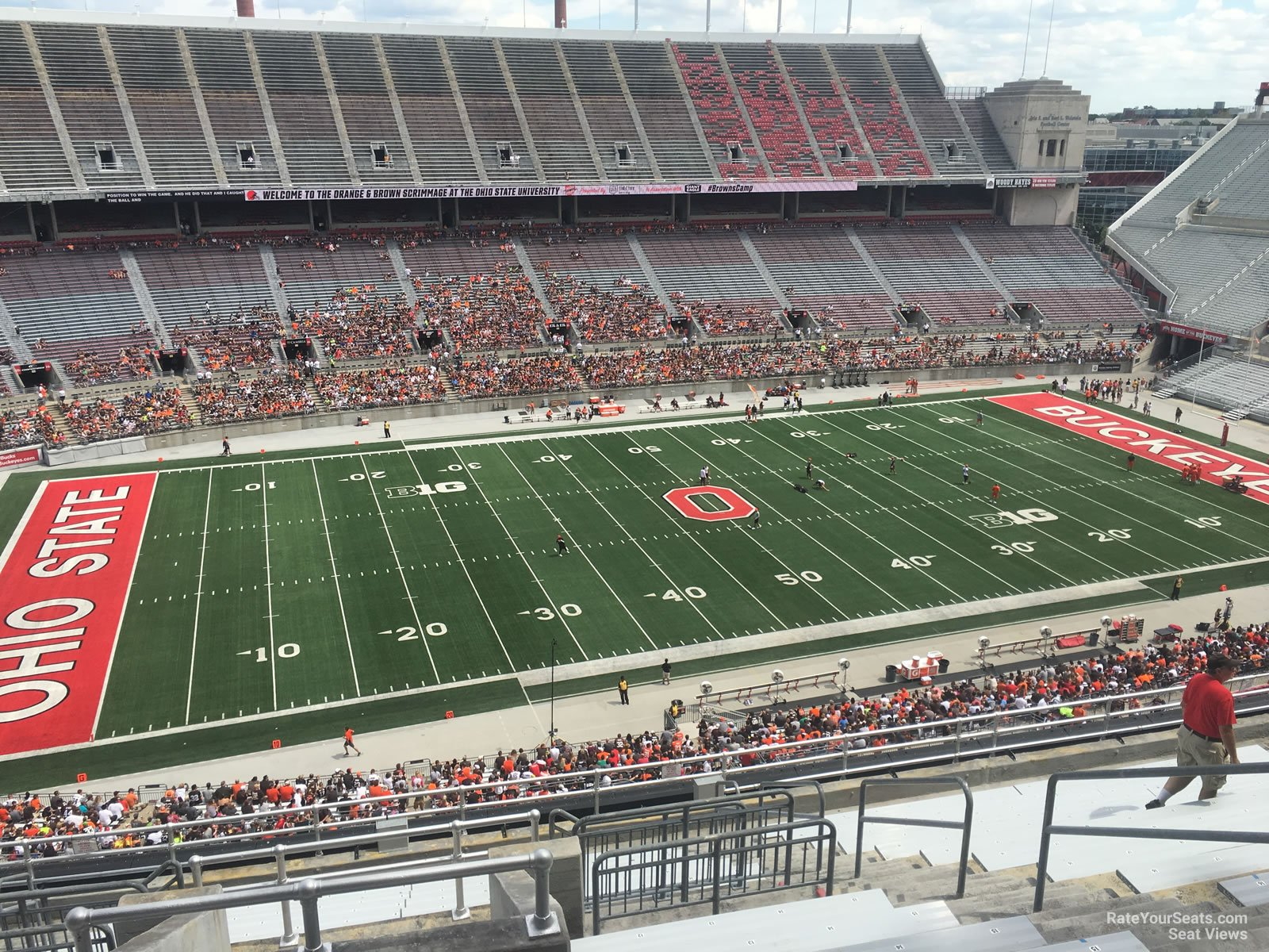 Ohio State Stadium Seating Map Cabinets Matttroy