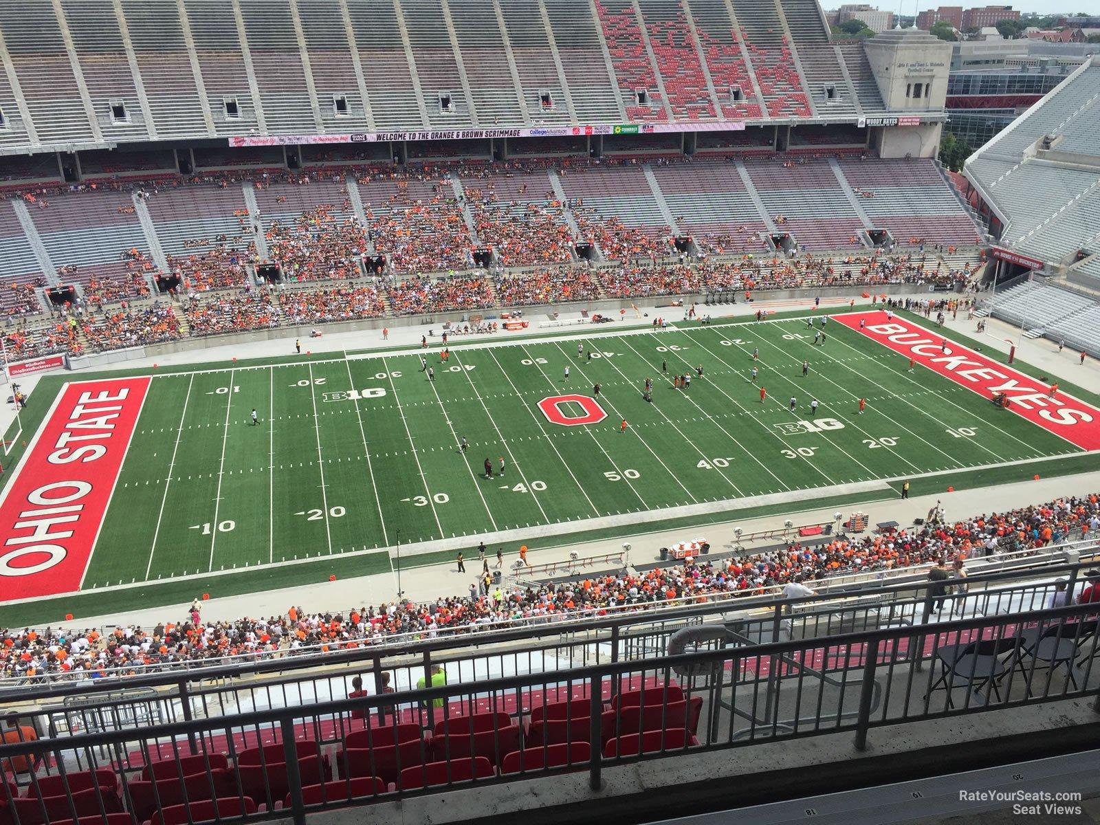 Ohio Stadium Section 17d Rateyourseats Com
