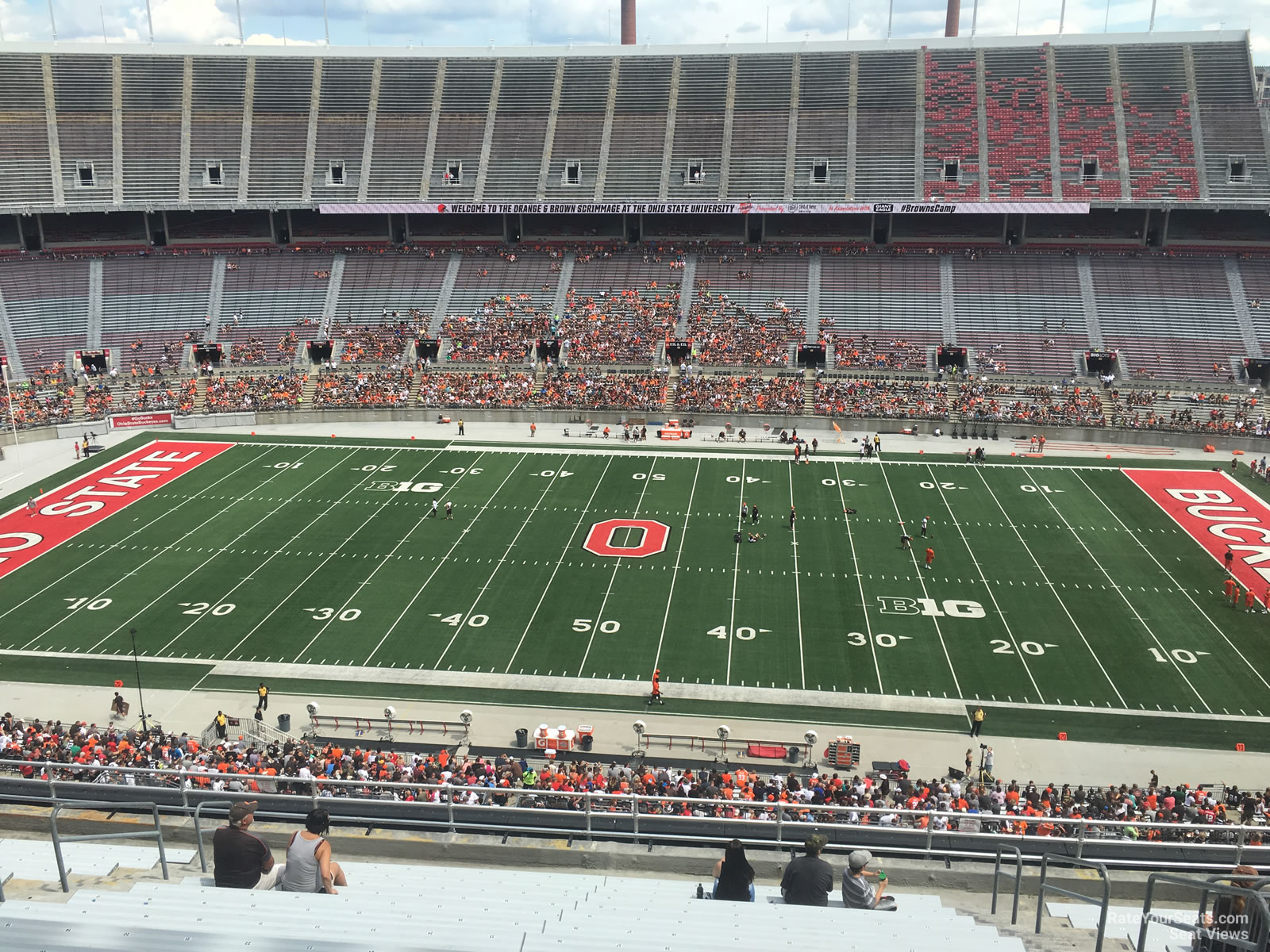 Ohio Stadium Section 21c Rateyourseats Com