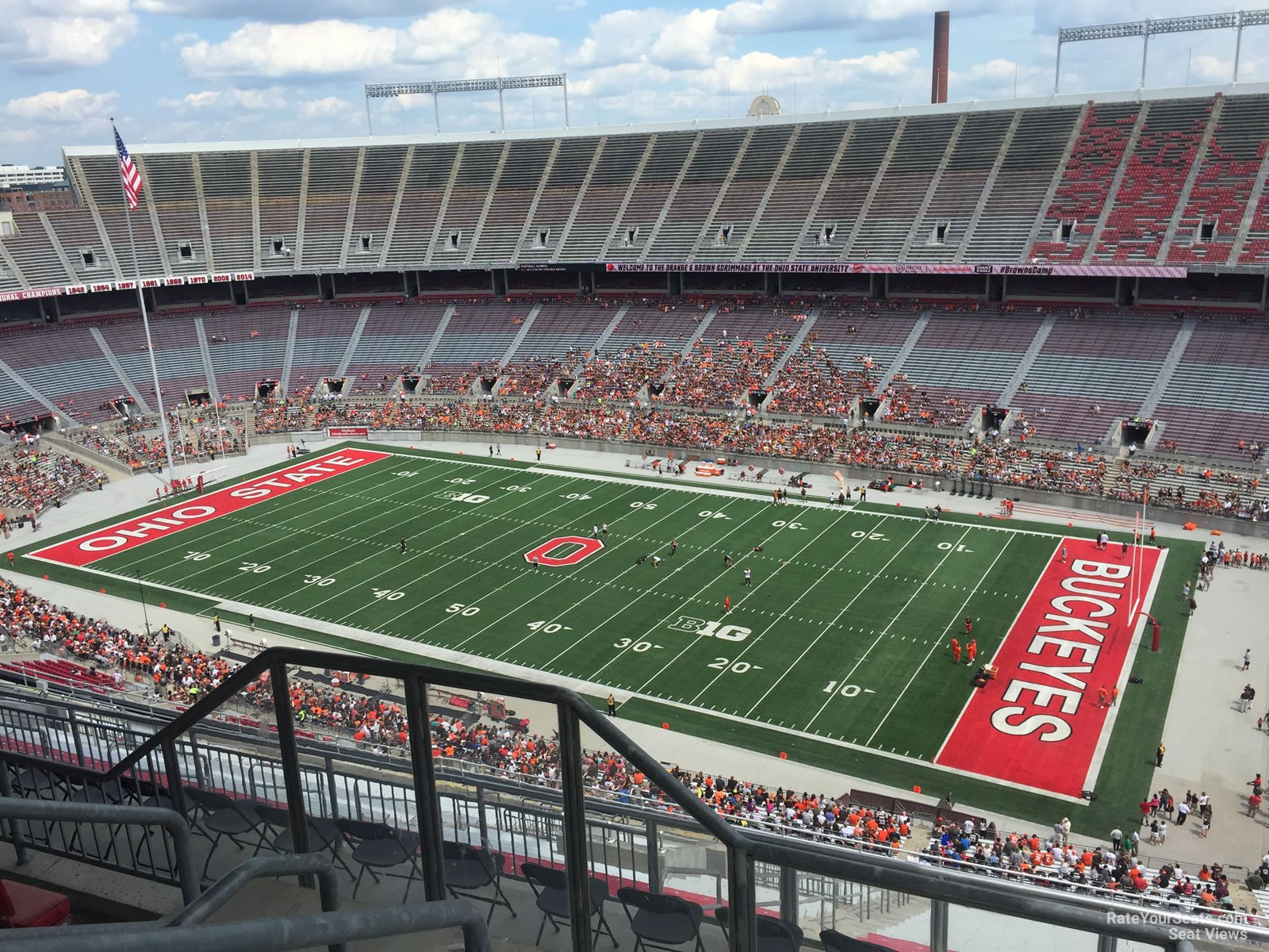ohio stadium section 29d rateyourseats com