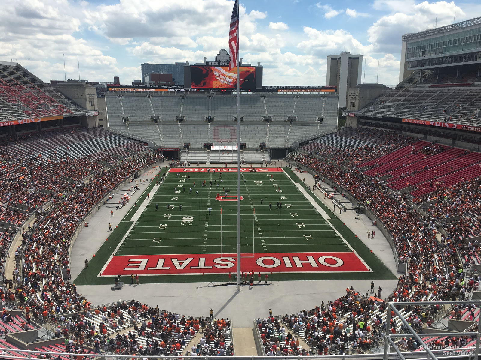ohio stadium section 2c rateyourseats com