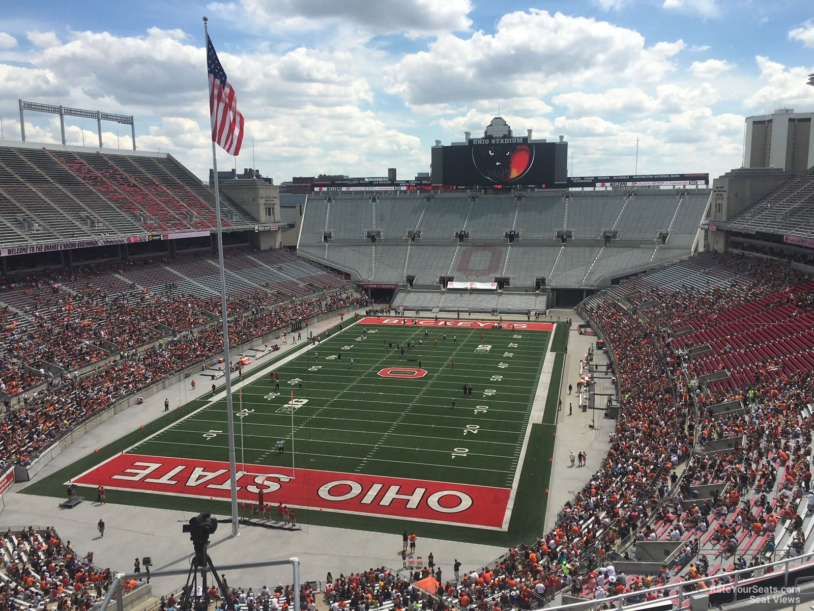 ohio stadium section 3c rateyourseats com