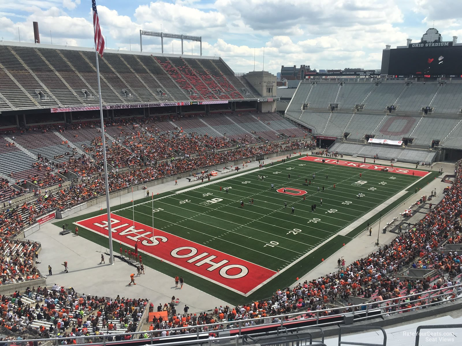 ohio stadium section 7c rateyourseats com