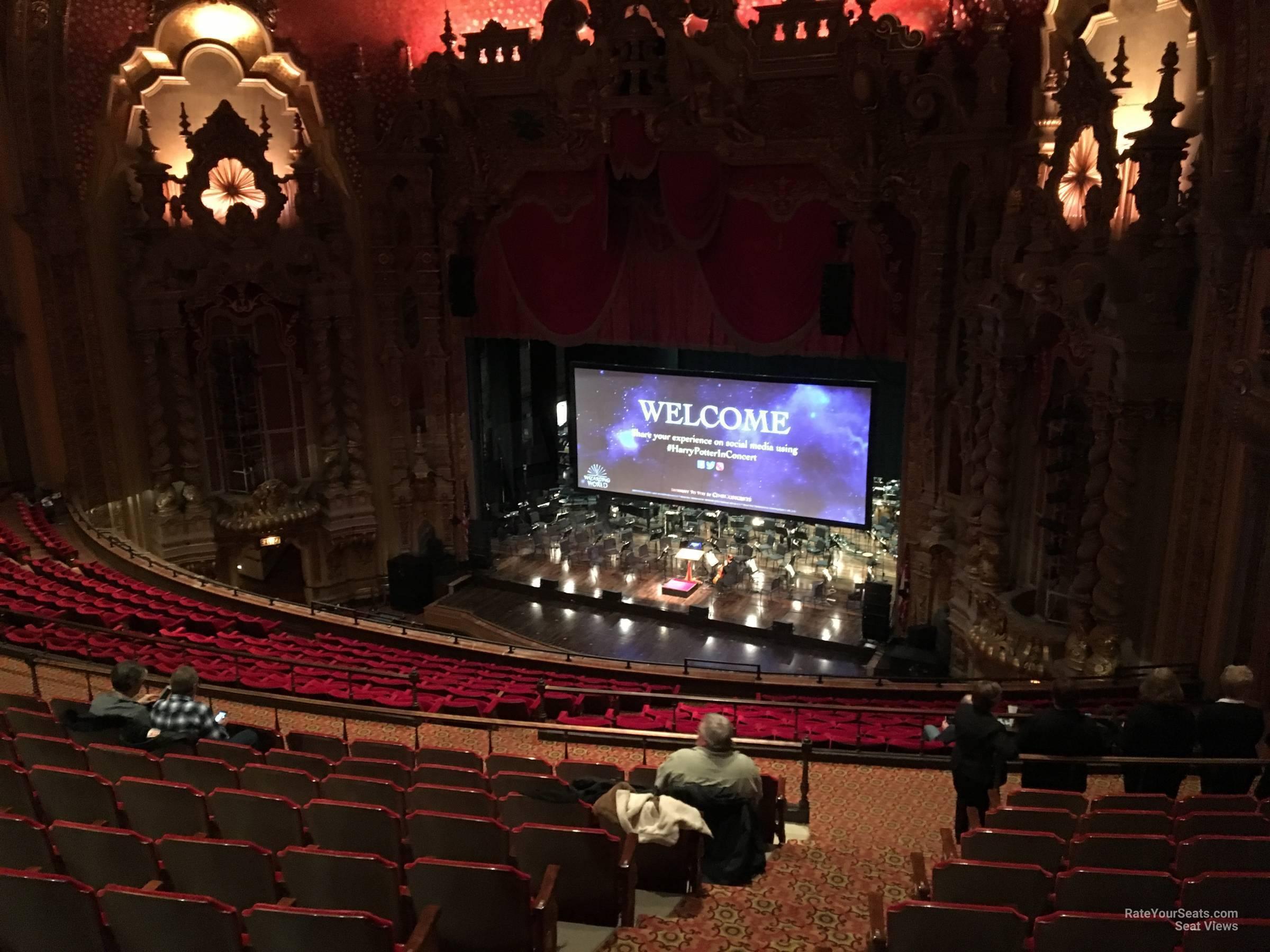 Mezzanine A seat view