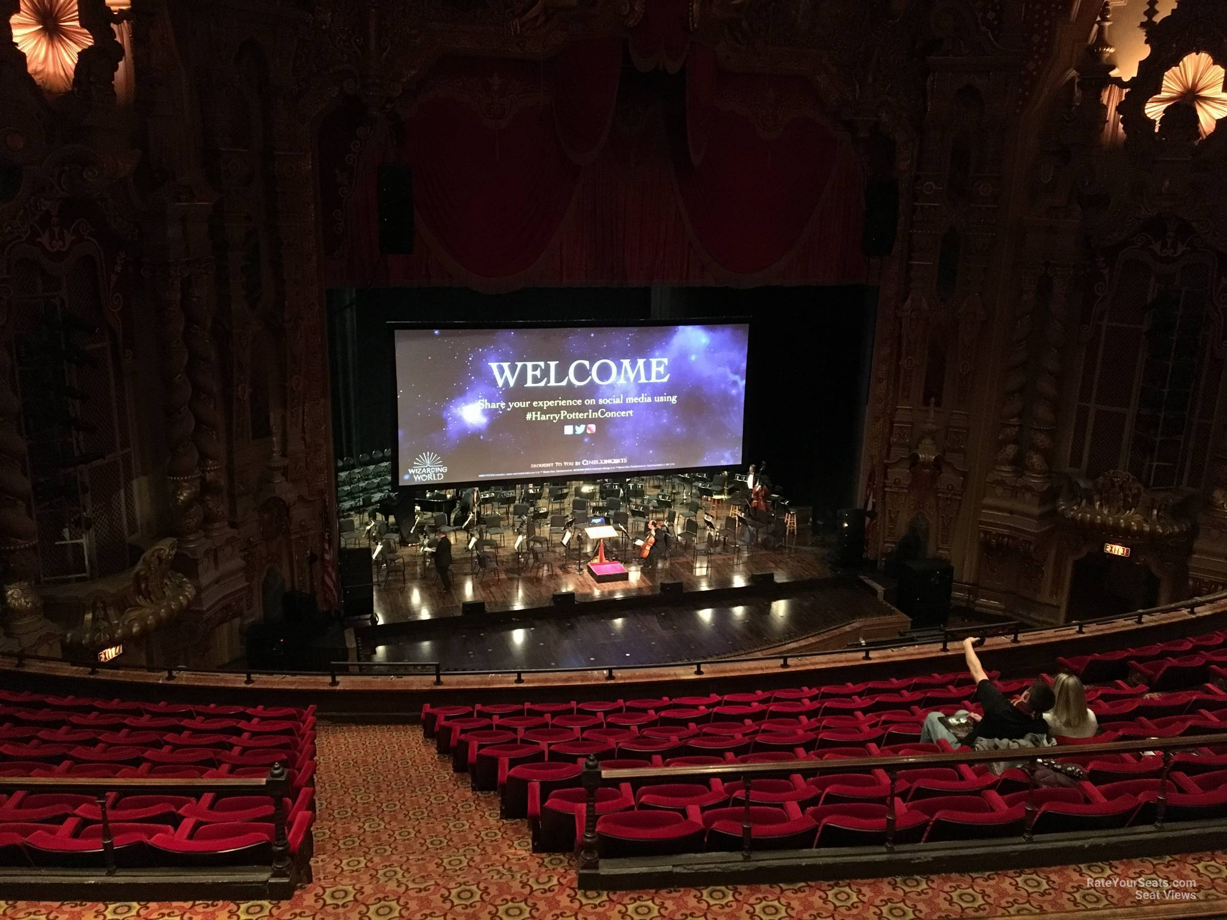 Seat View for Ohio Theatre Mezzanine D, Row D
