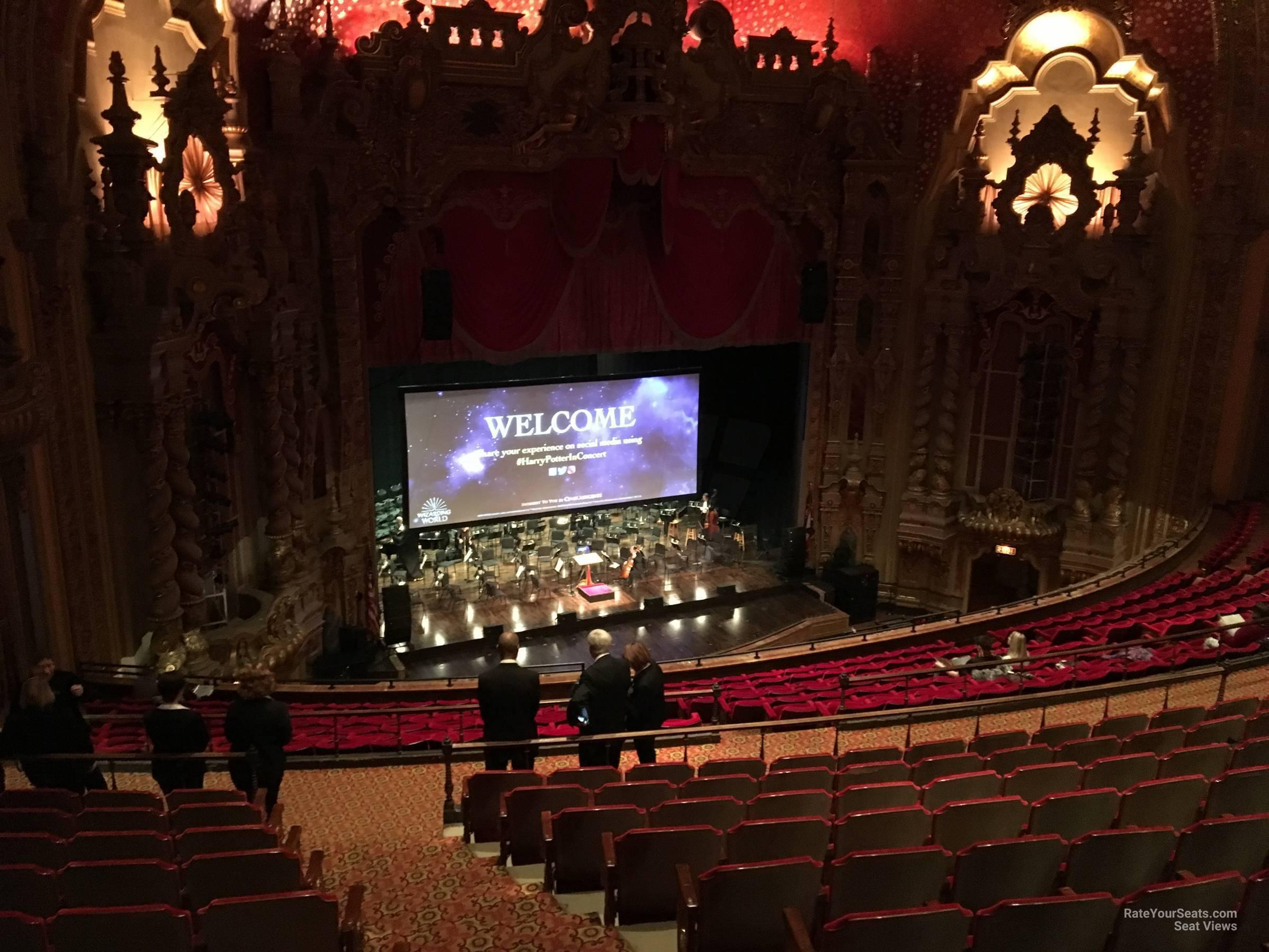 Mezzanine E seat view