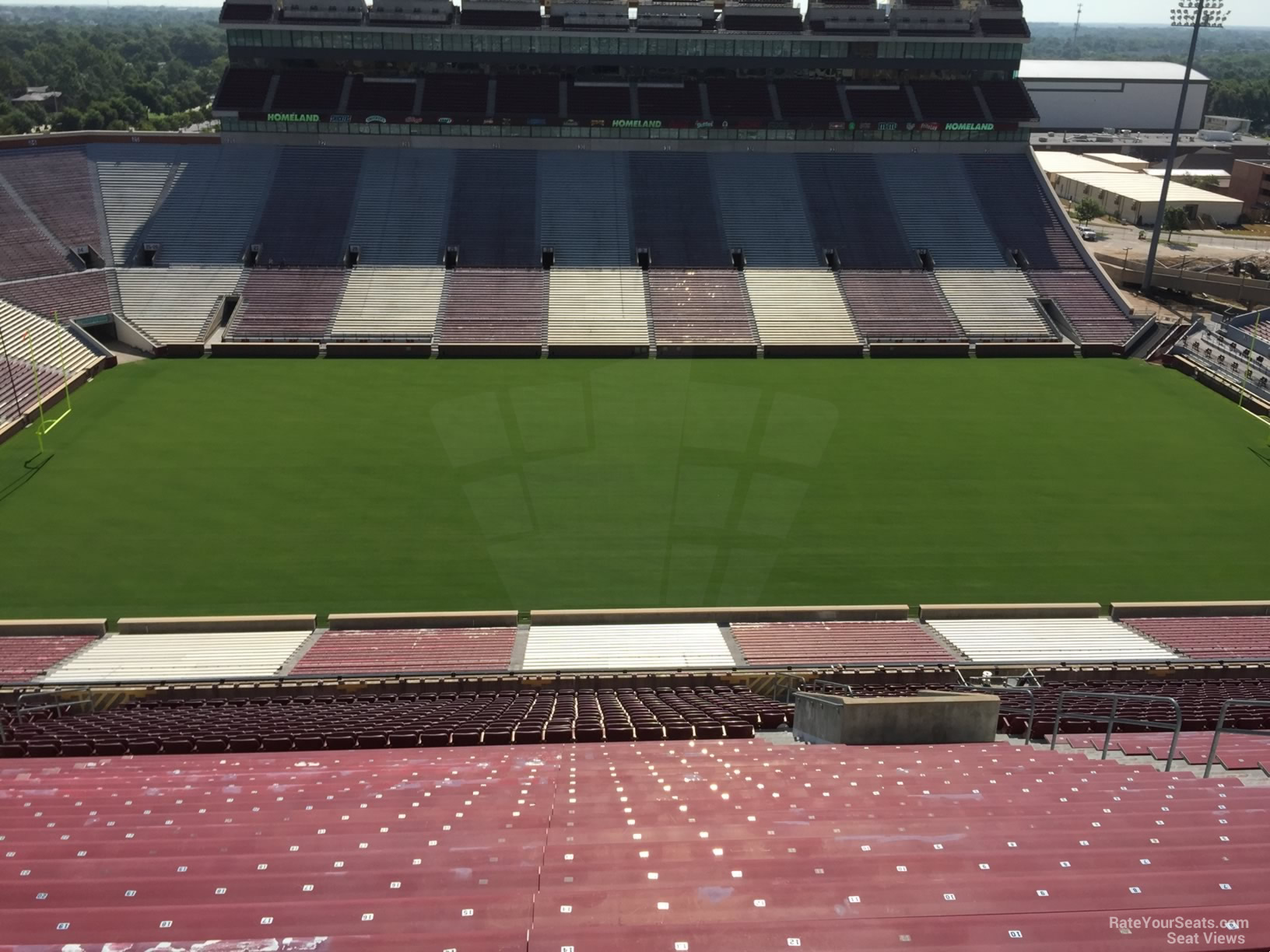Oklahoma Memorial Stadium Section 106 Rateyourseats Com