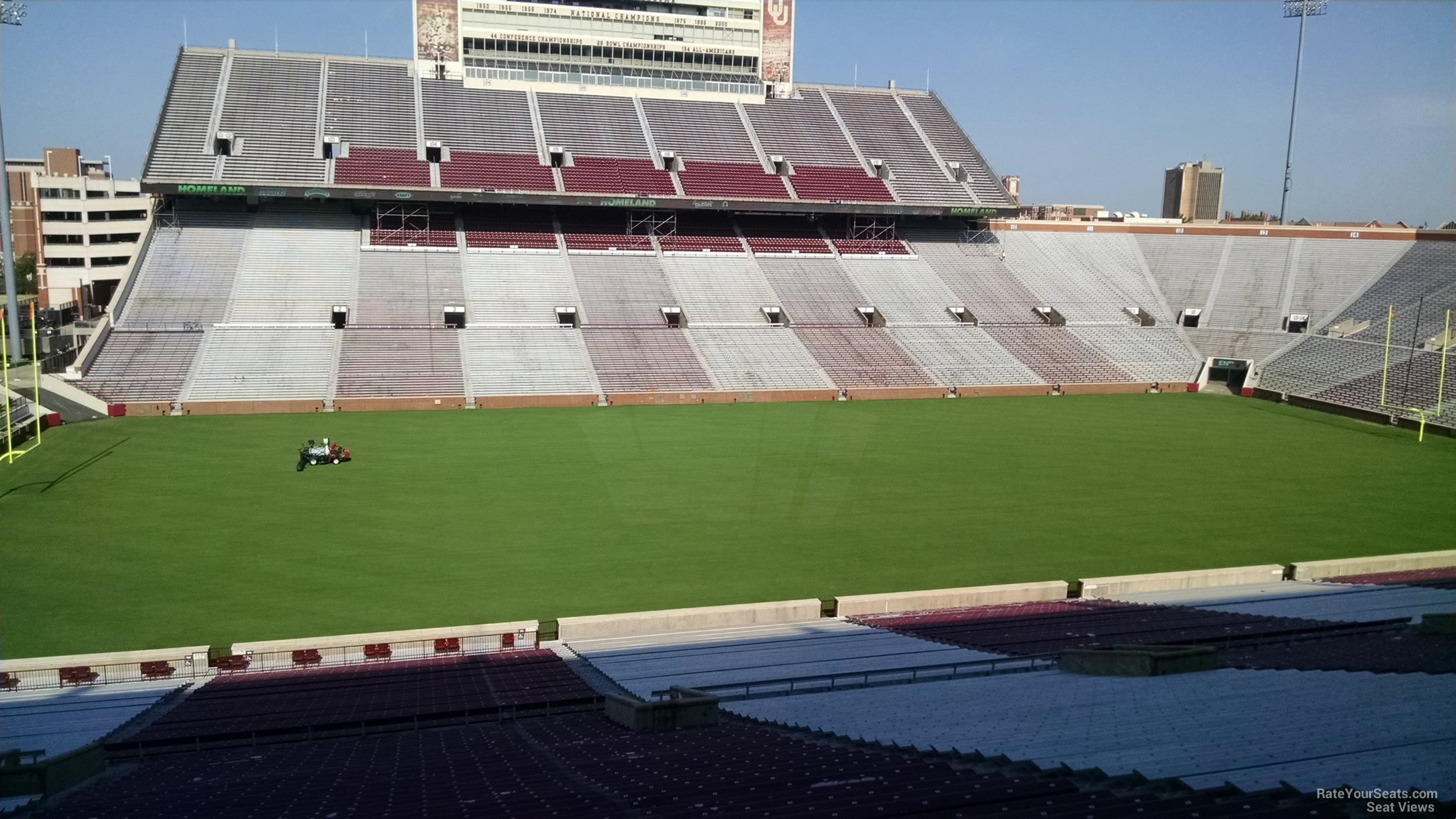 Oklahoma Memorial Stadium Section 33 Rateyourseats Com