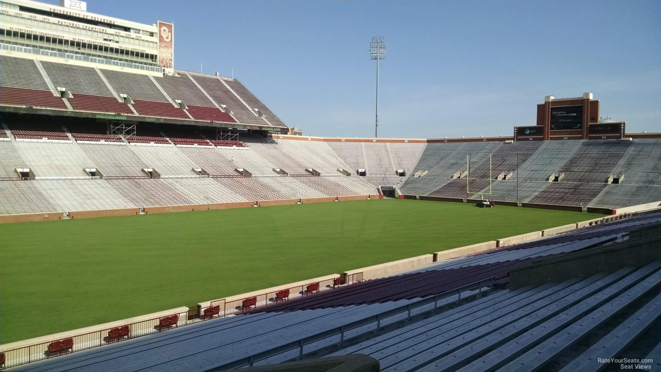 Section 35 At Oklahoma Memorial Stadium Rateyourseats Com