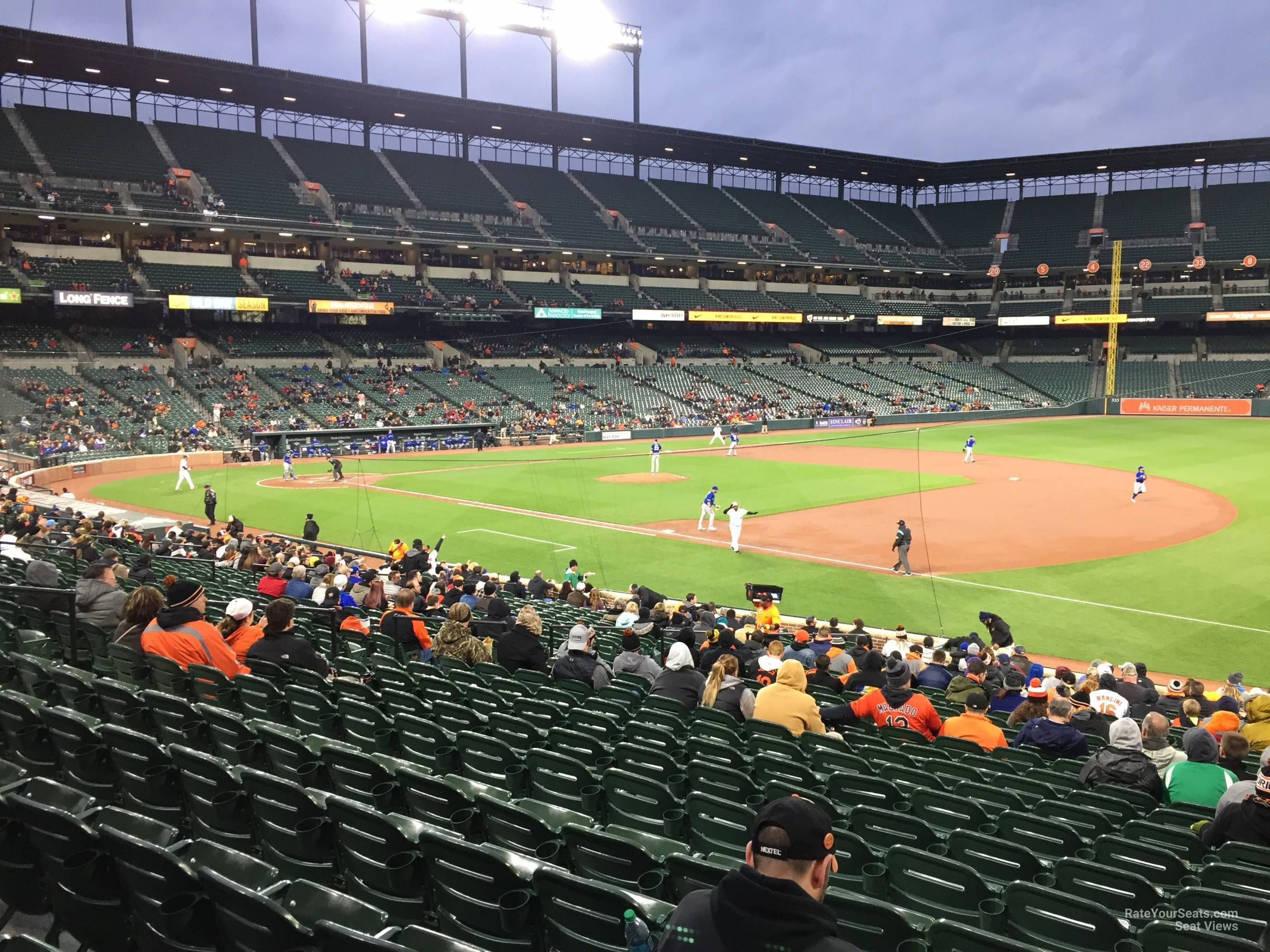 Oriole Park Section 14 Rateyourseats Com