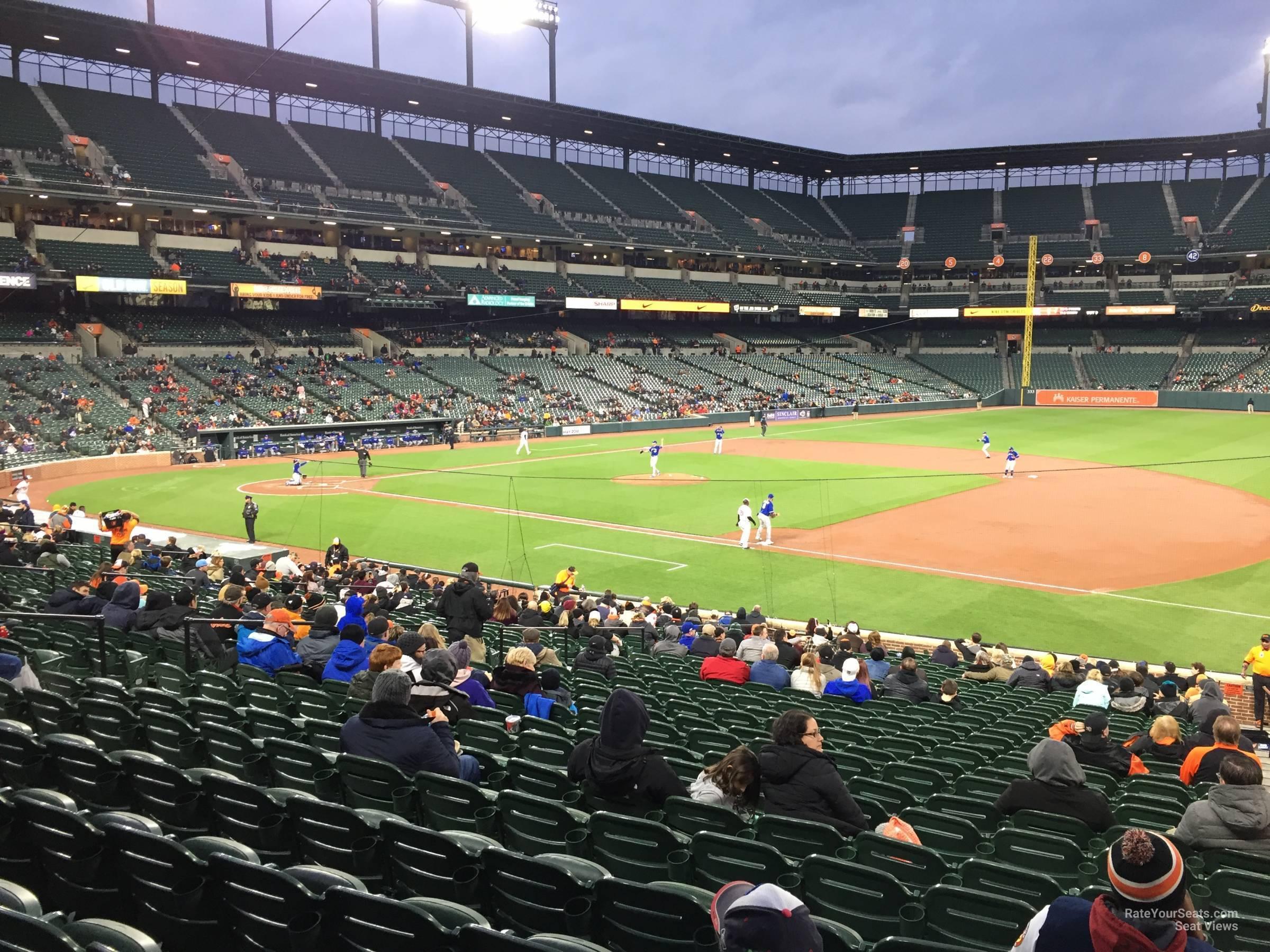 Oriole Park Section 16 Rateyourseats Com