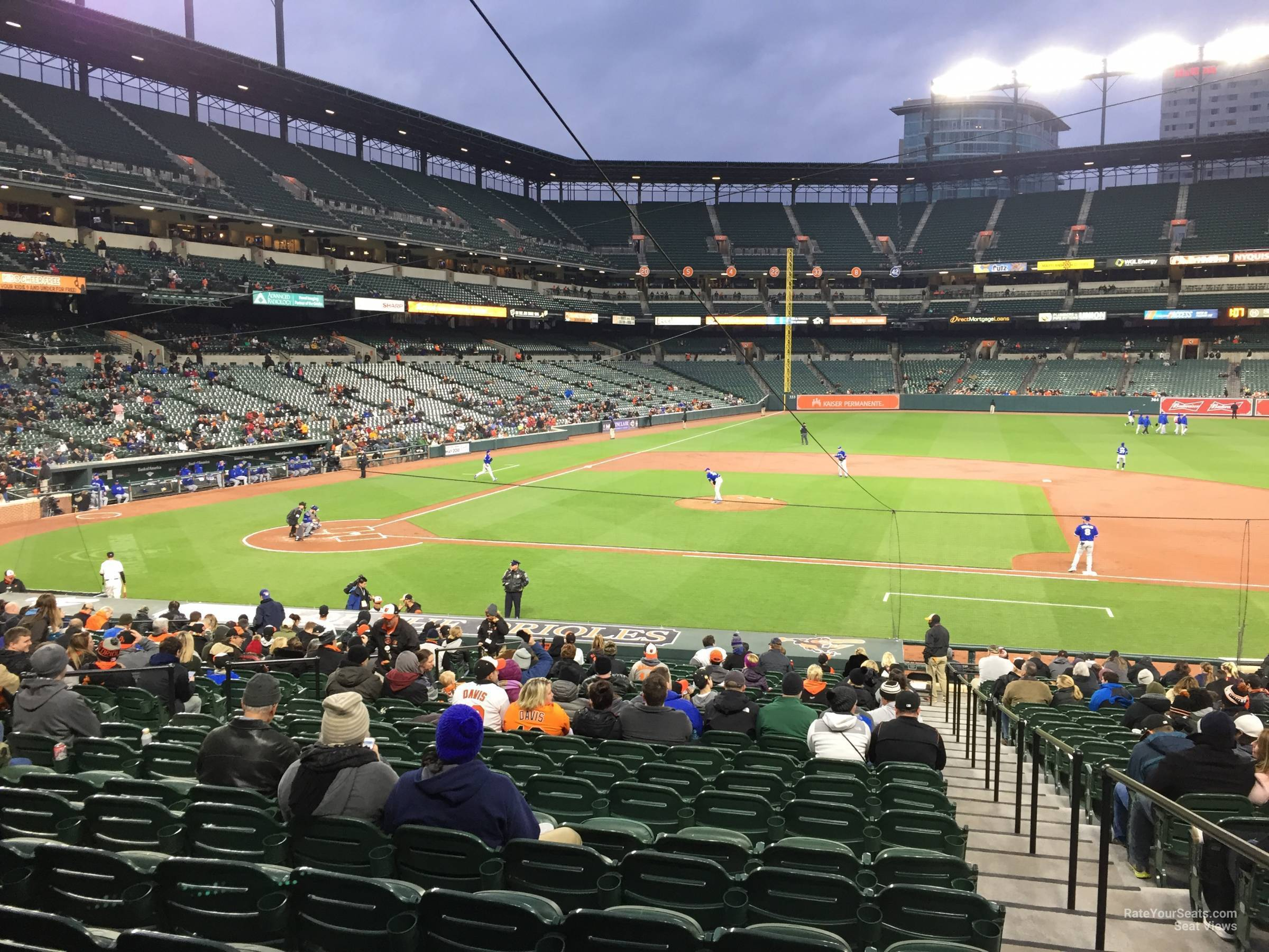Oriole Park Section 22 Rateyourseats Com