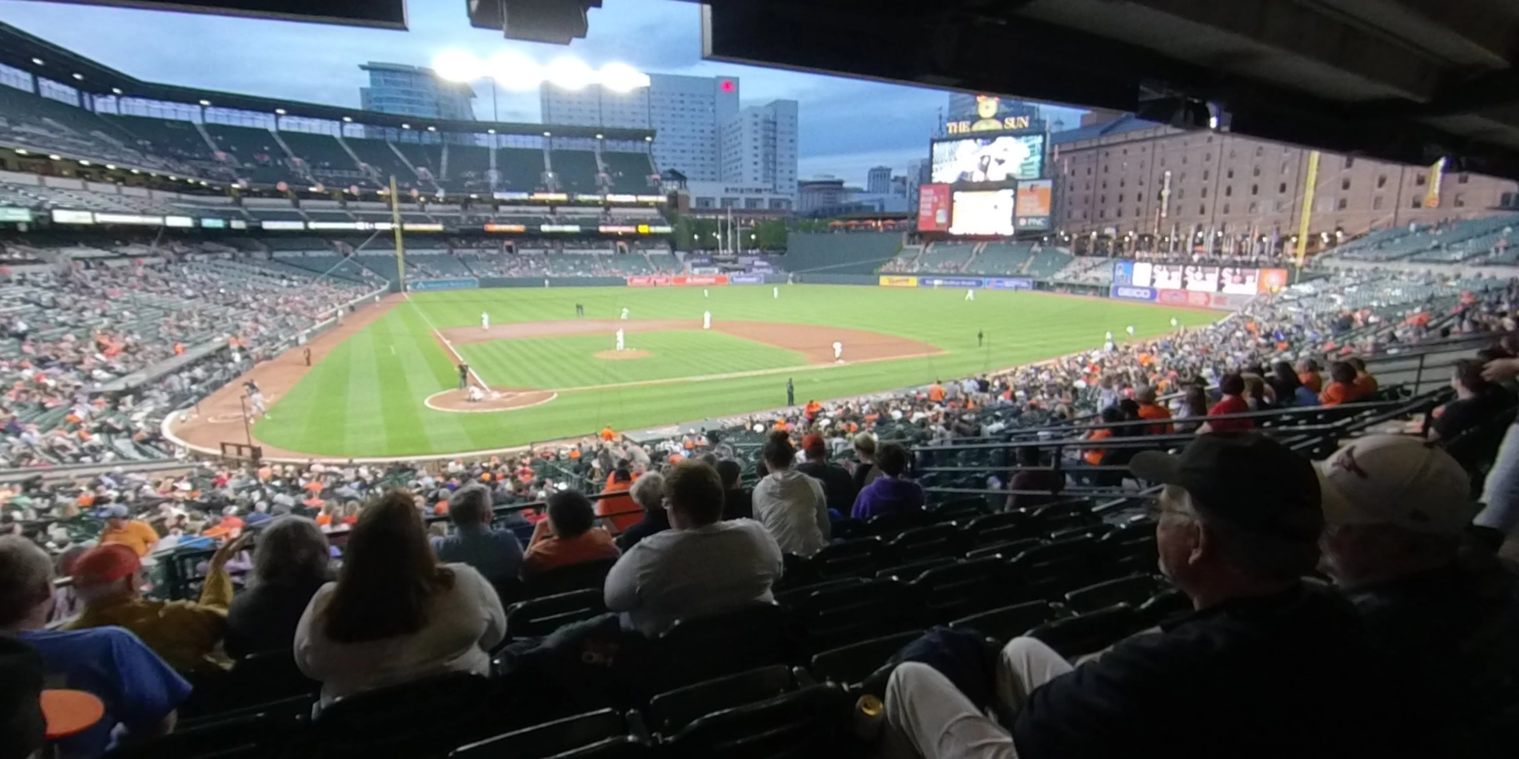 Oriole Park Section 31 Rateyourseatscom