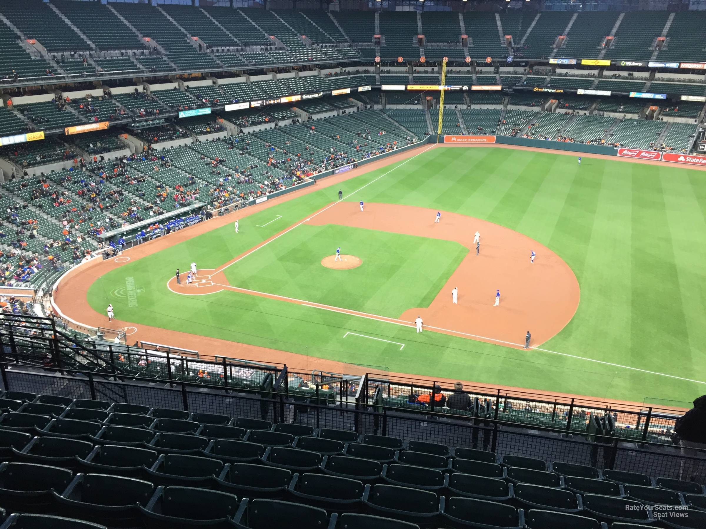 Oriole Park Section 318 Rateyourseats Com