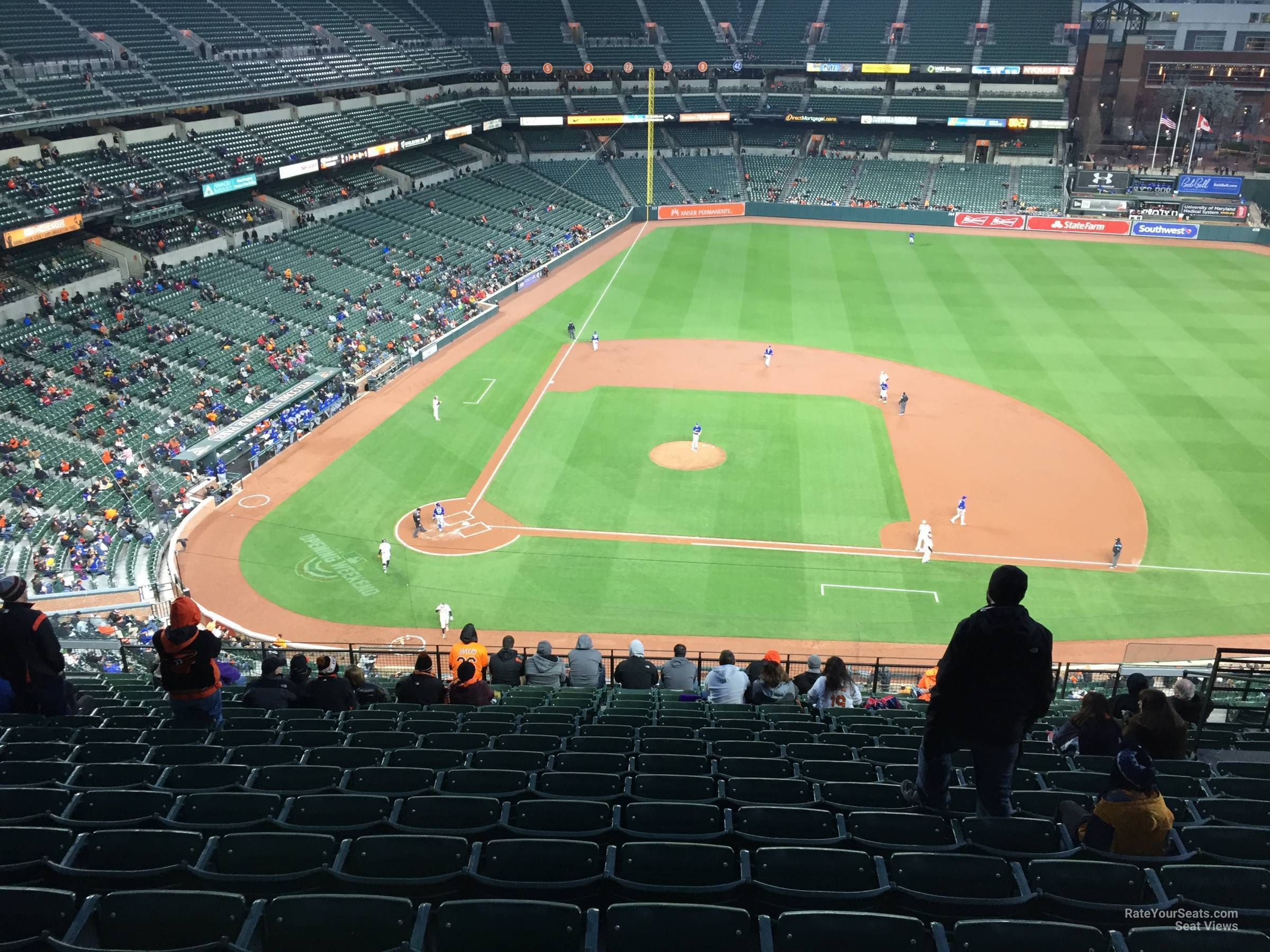 Oriole Park Section 324 Rateyourseats Com