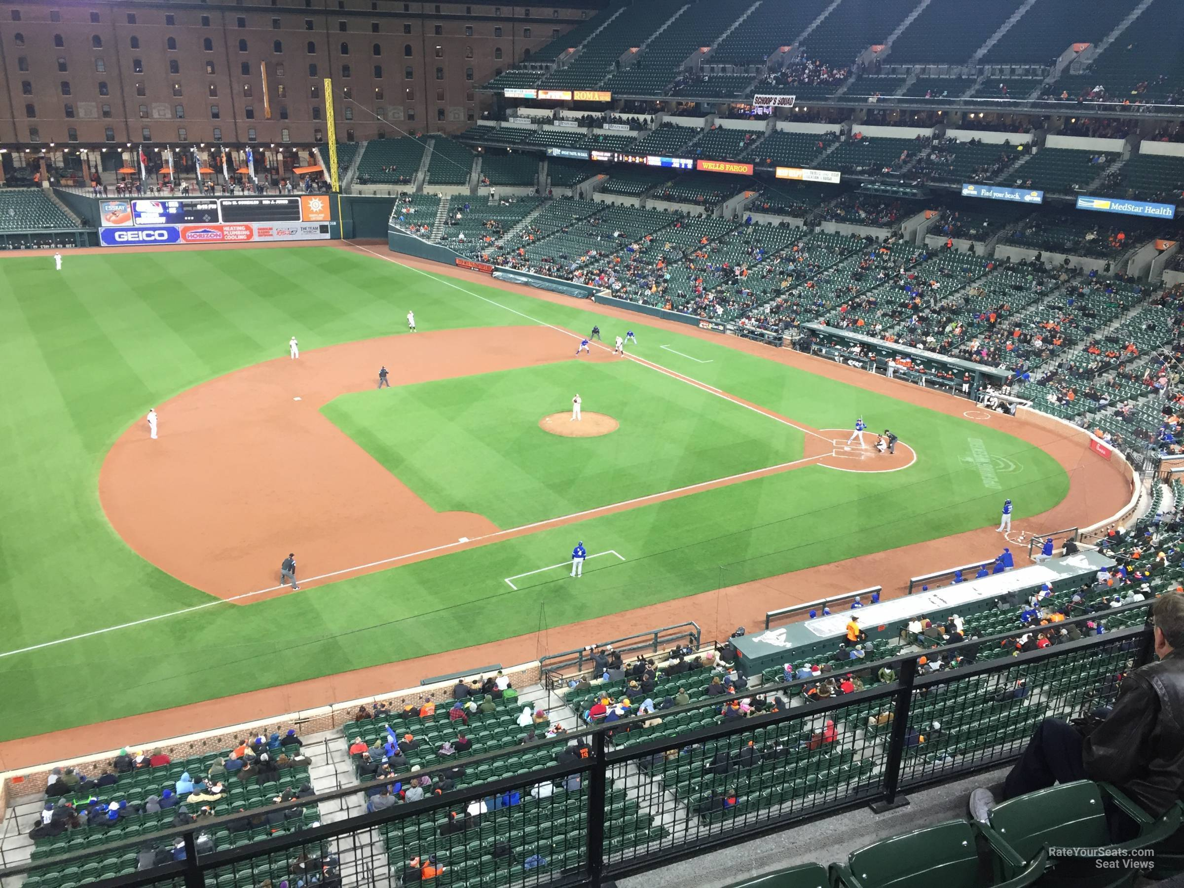 Oriole Park Section 358 Rateyourseats Com
