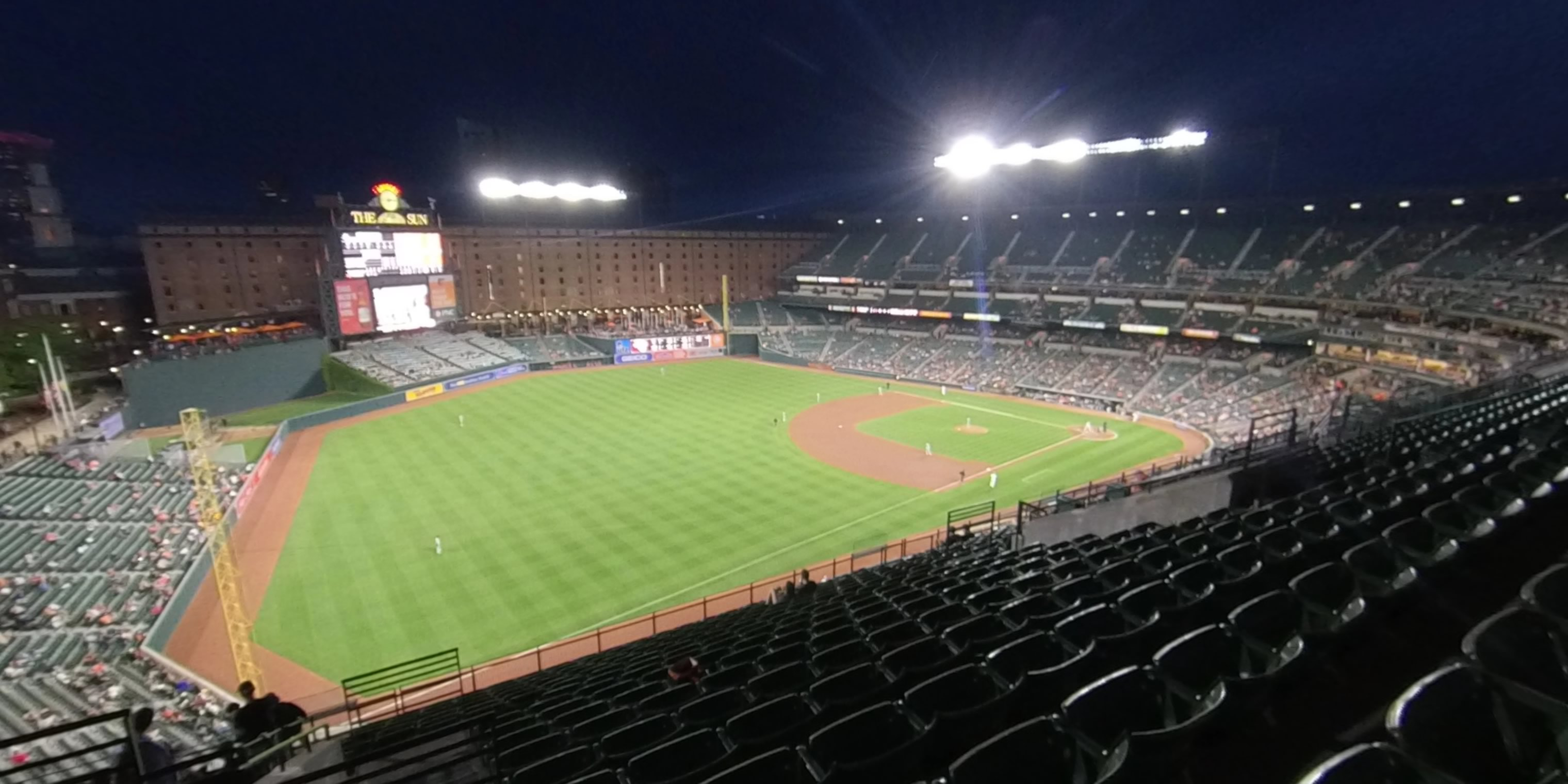 360° Photo From Oriole Park Section 370