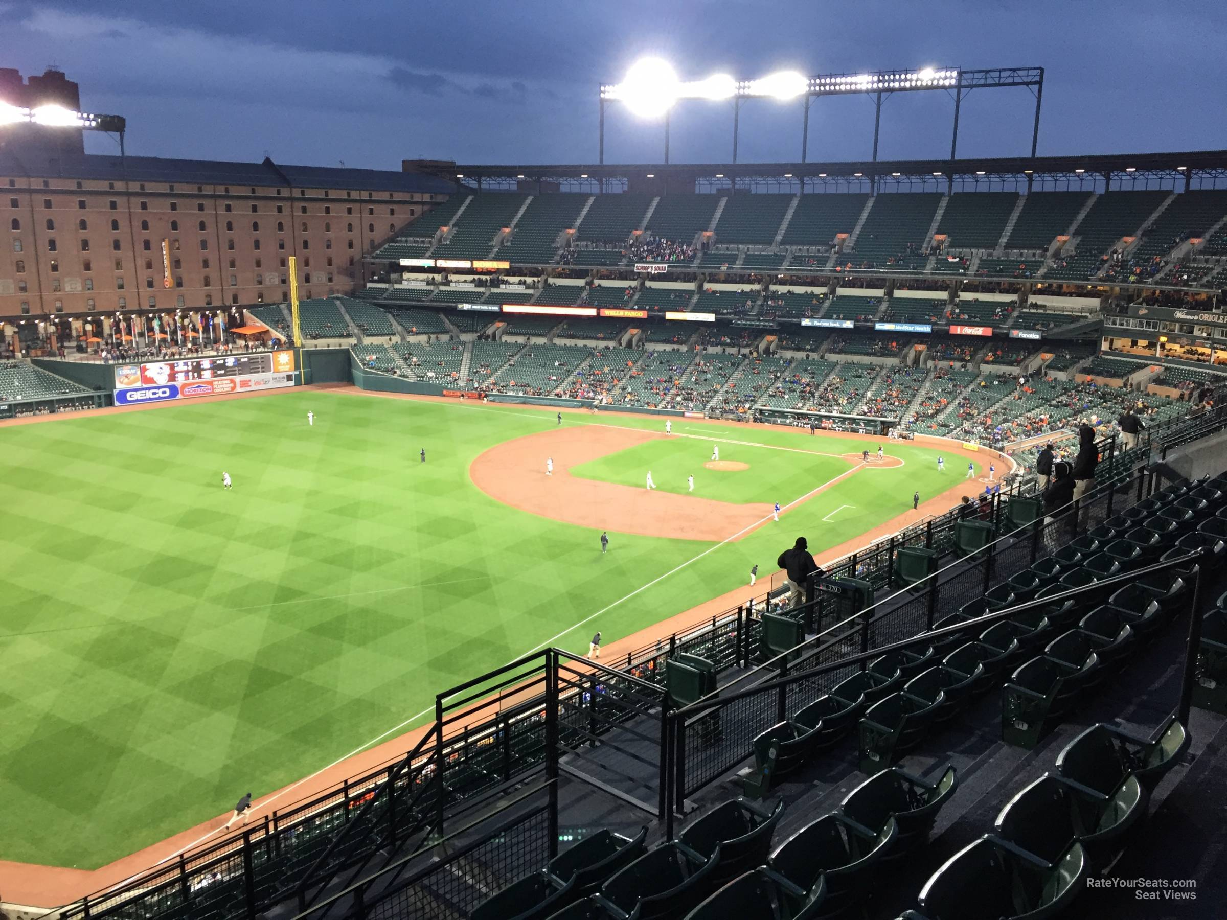 Seat View for Oriole Park Section 372, Row 15