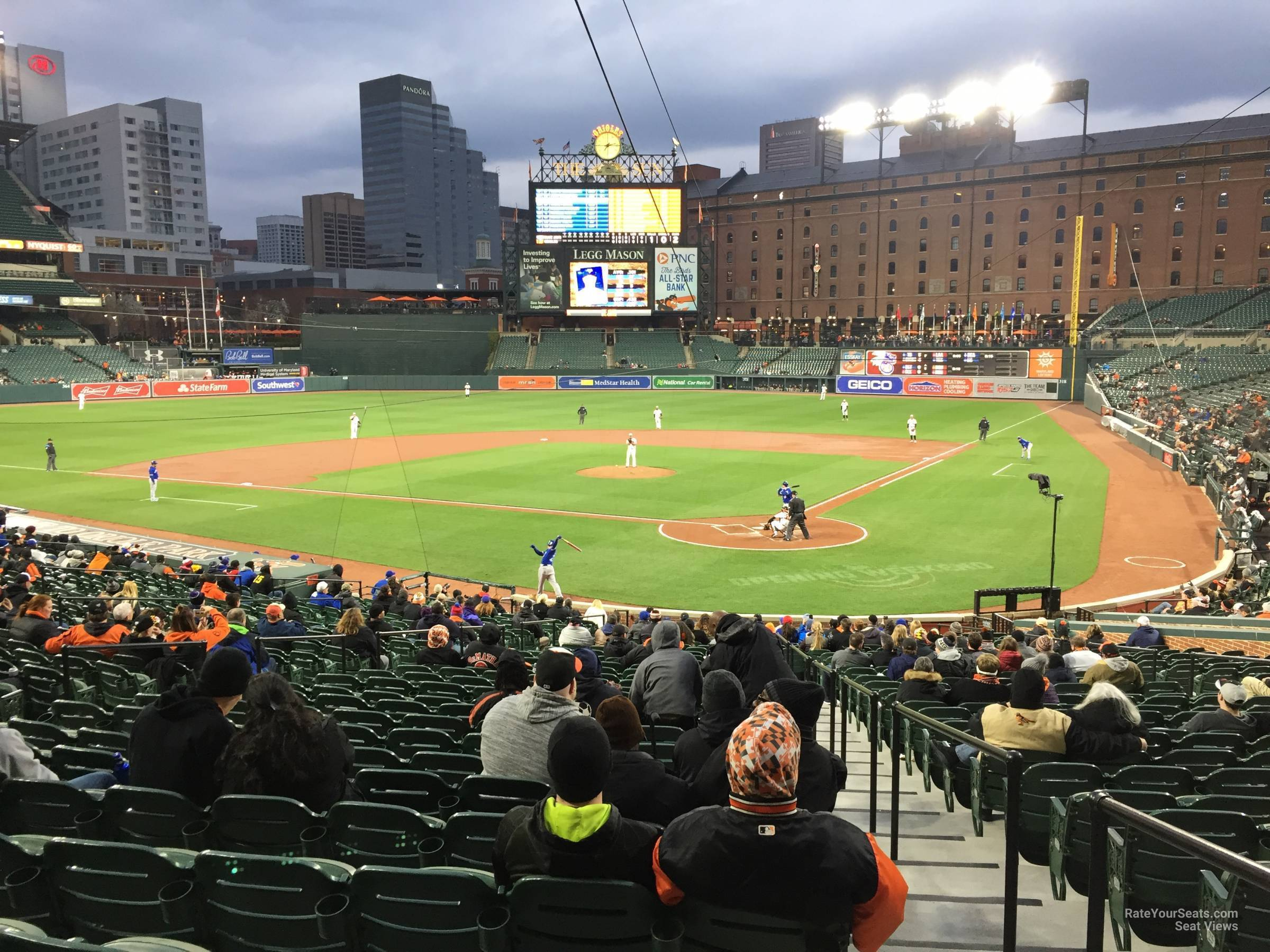 Oriole Park Section 42 Rateyourseats Com