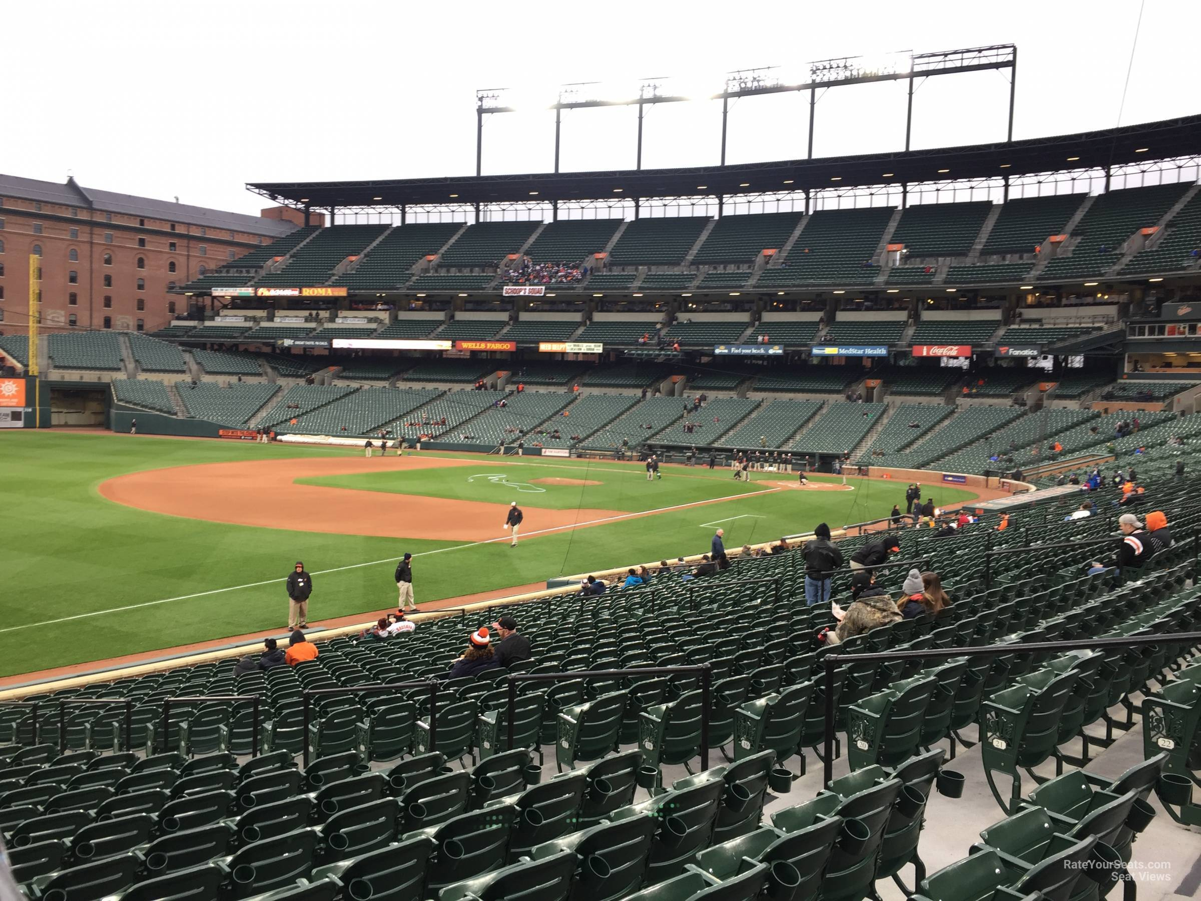 Oriole Park Section 64 Rateyourseats Com