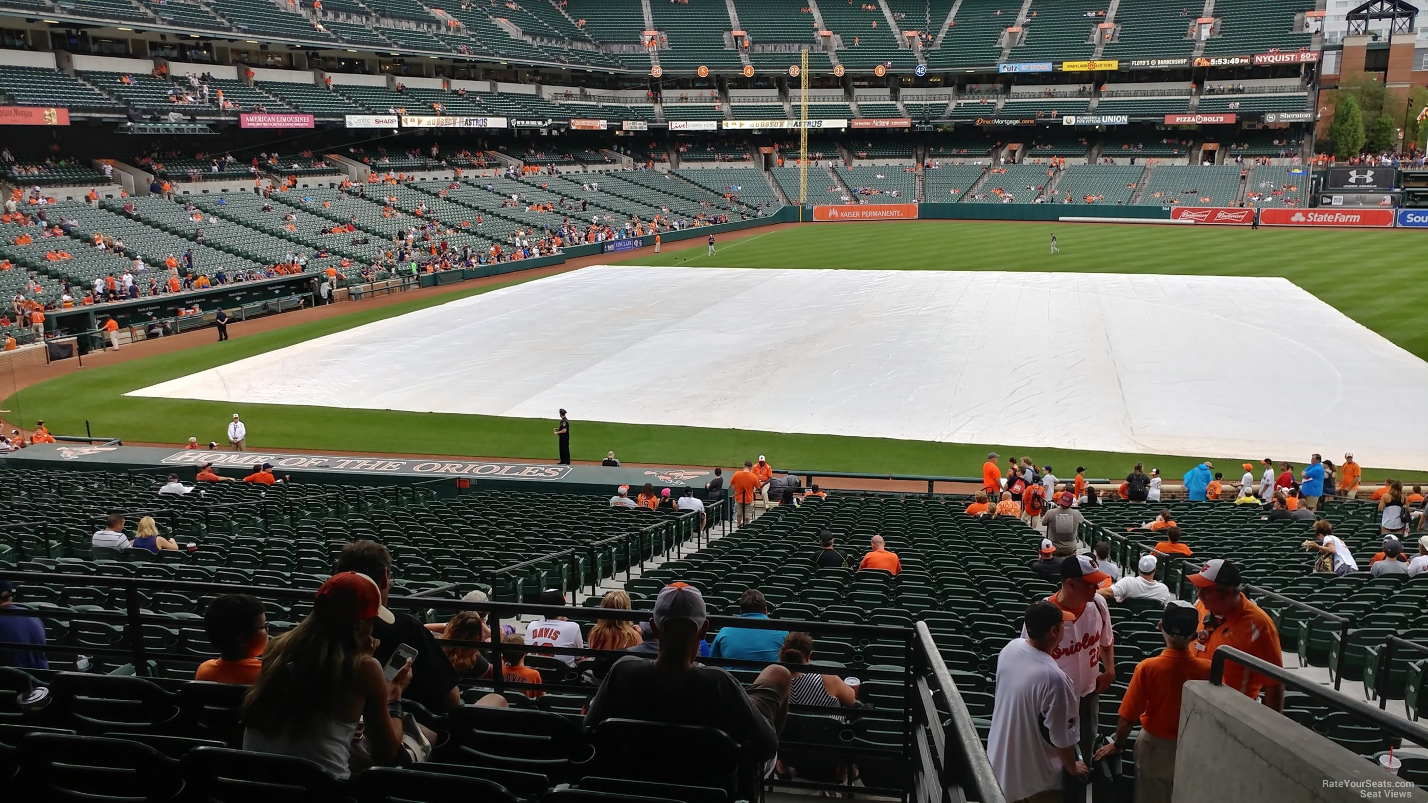 Oriole Park Section 19 Rateyourseats Com