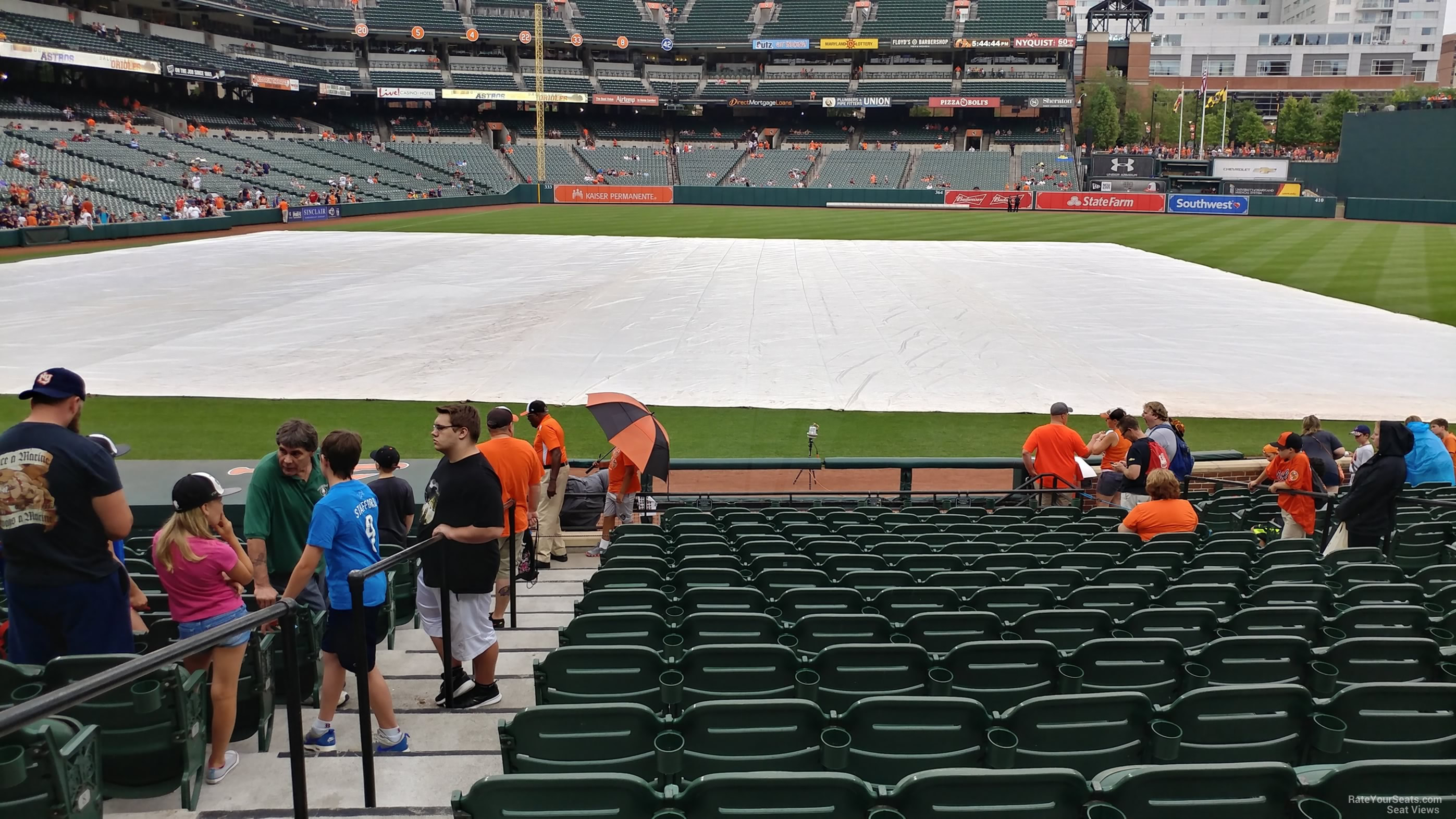Seat View for Oriole Park Section 20, Row 15