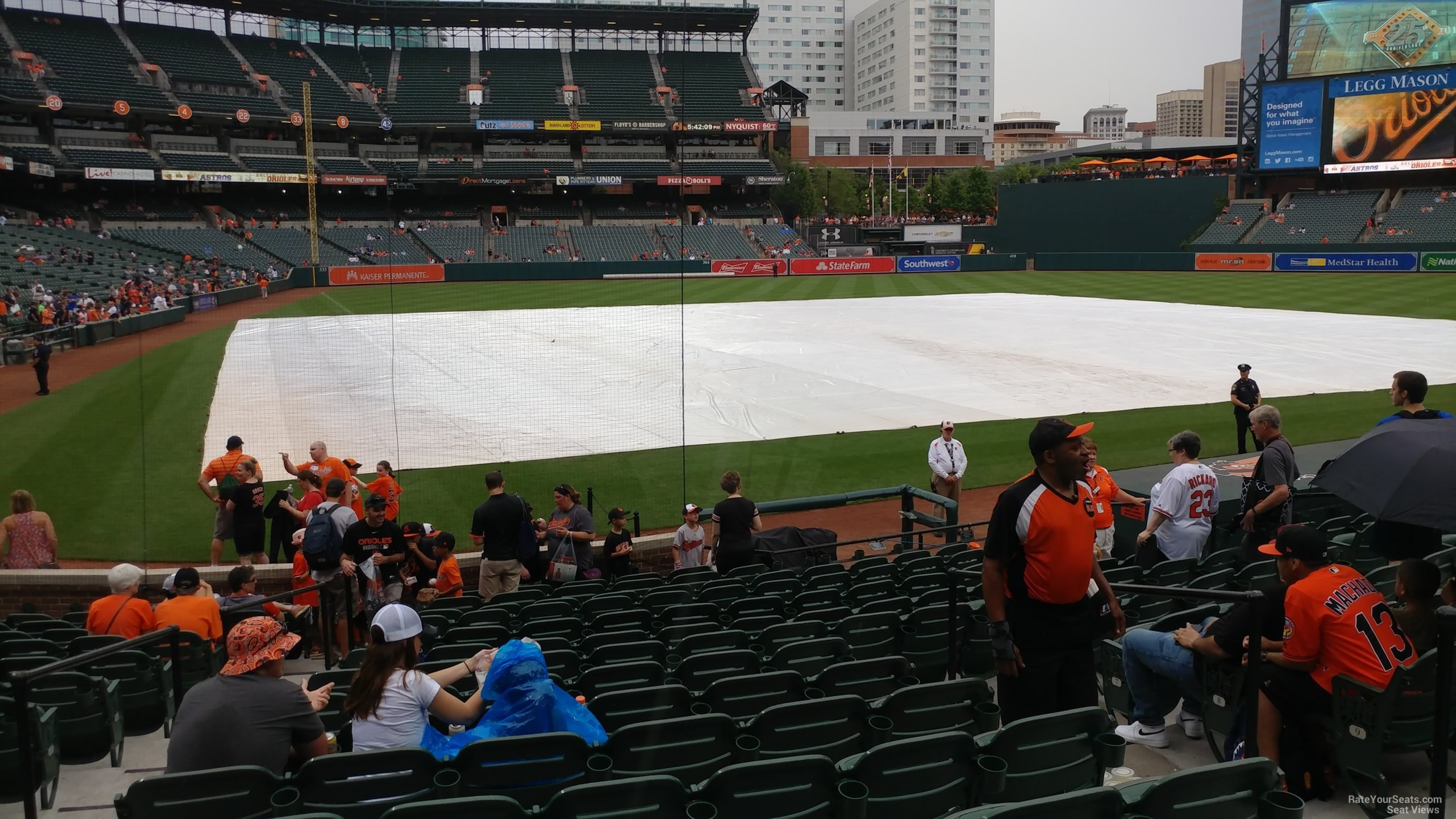 Seat View For Oriole Park Section 30