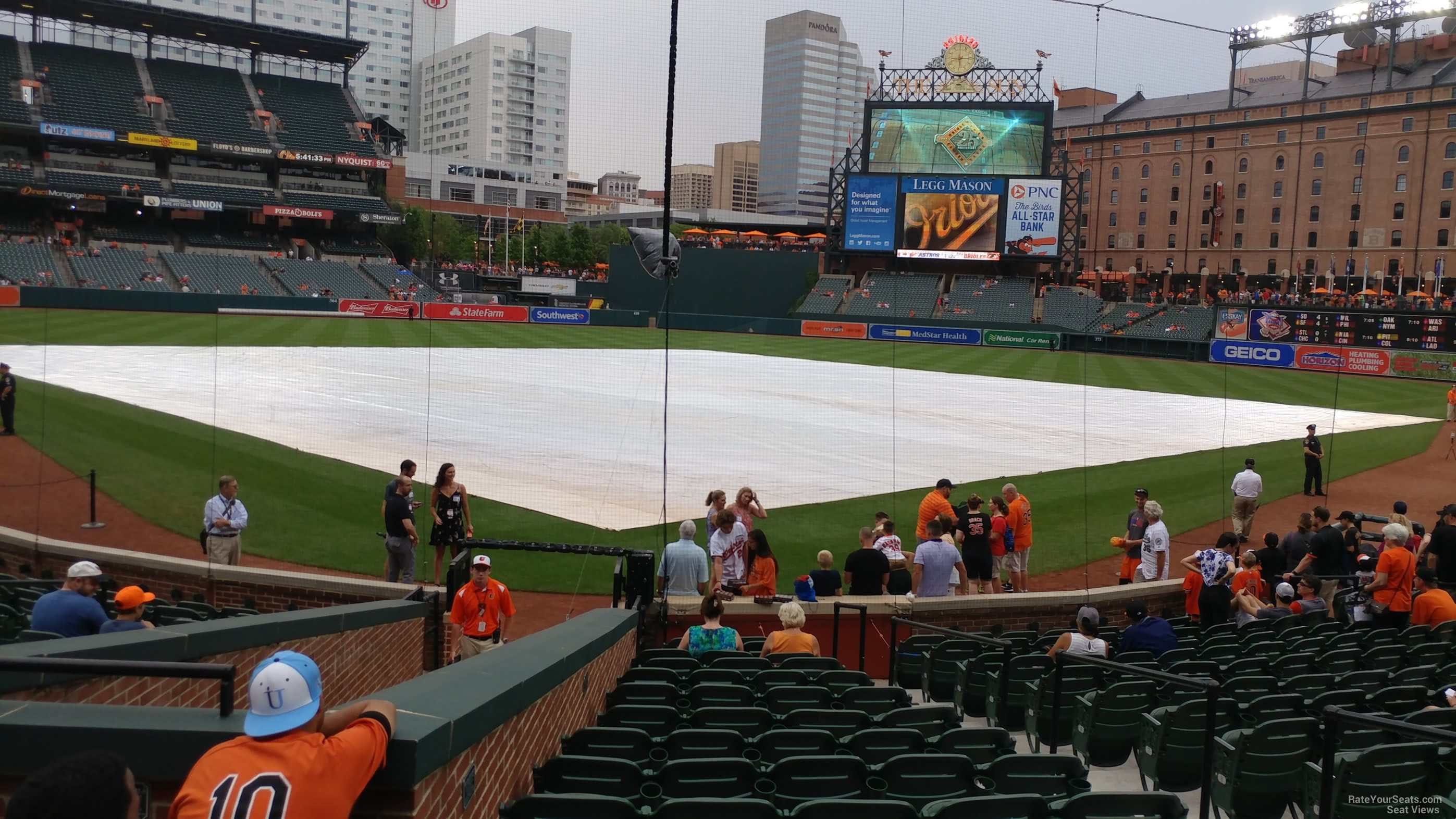 Seat View for Oriole Park Section 36, Row 15