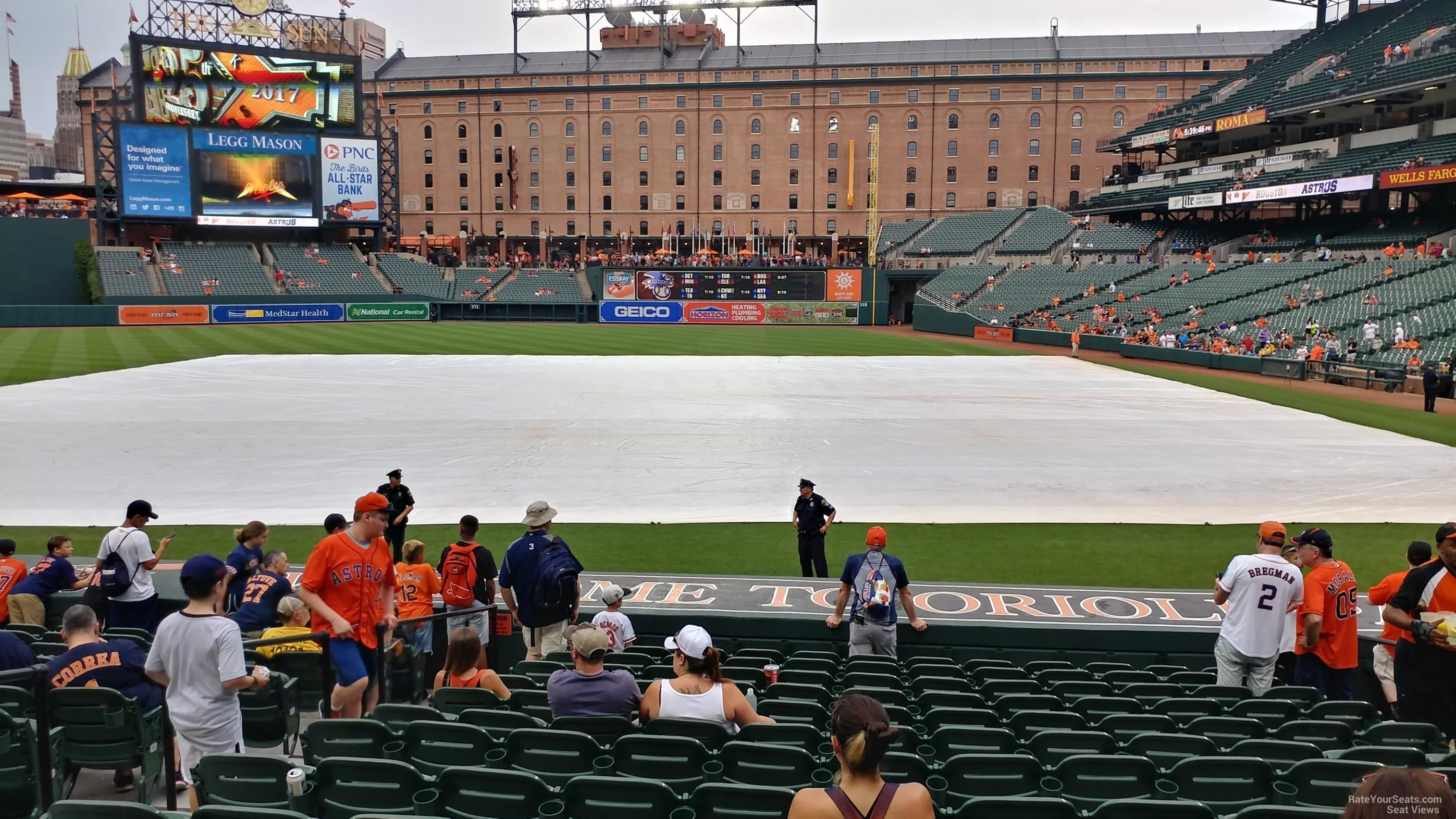 oriole park section 50 - rateyourseats