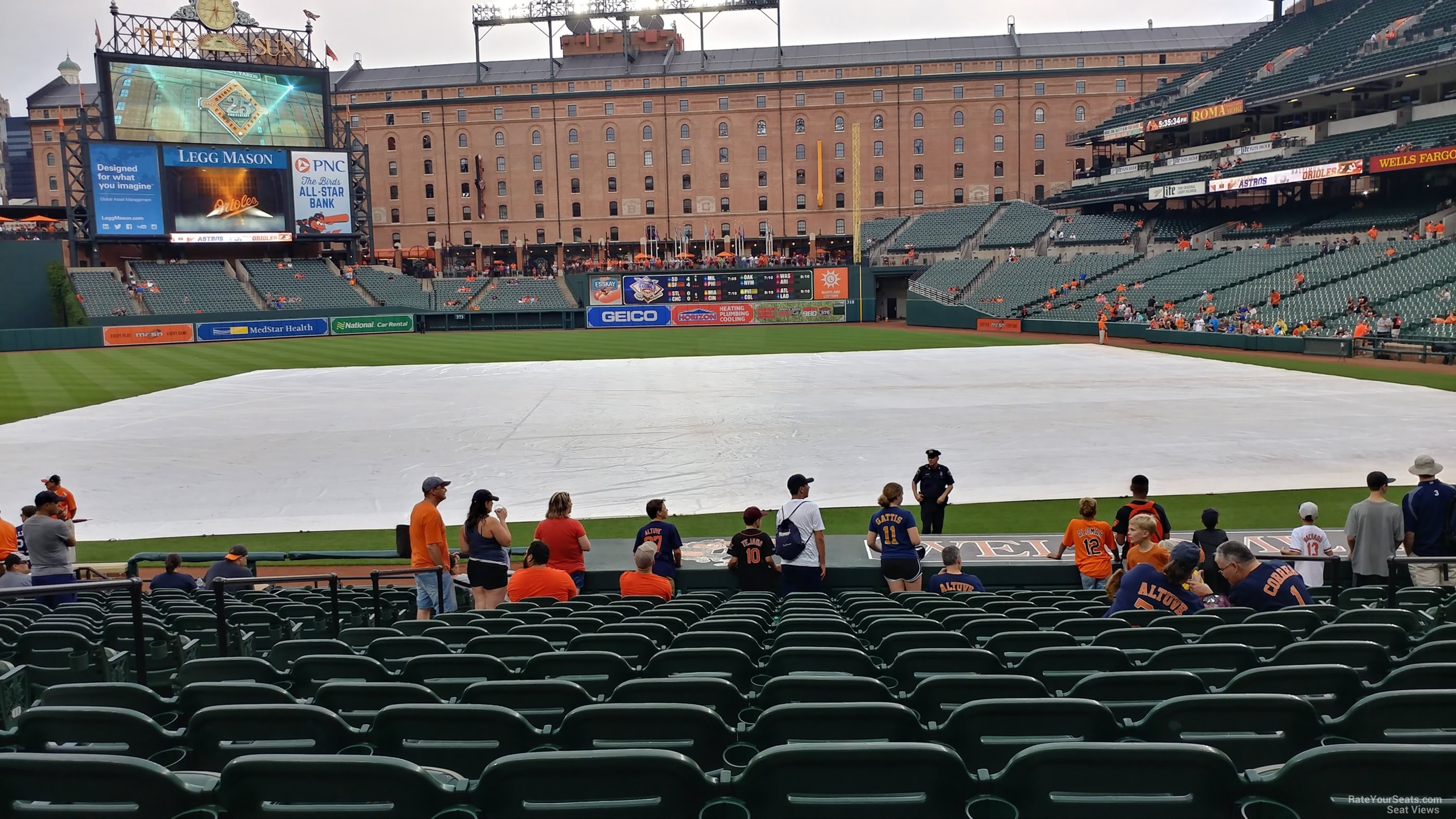Oriole Park Section 52 Rateyourseats Com