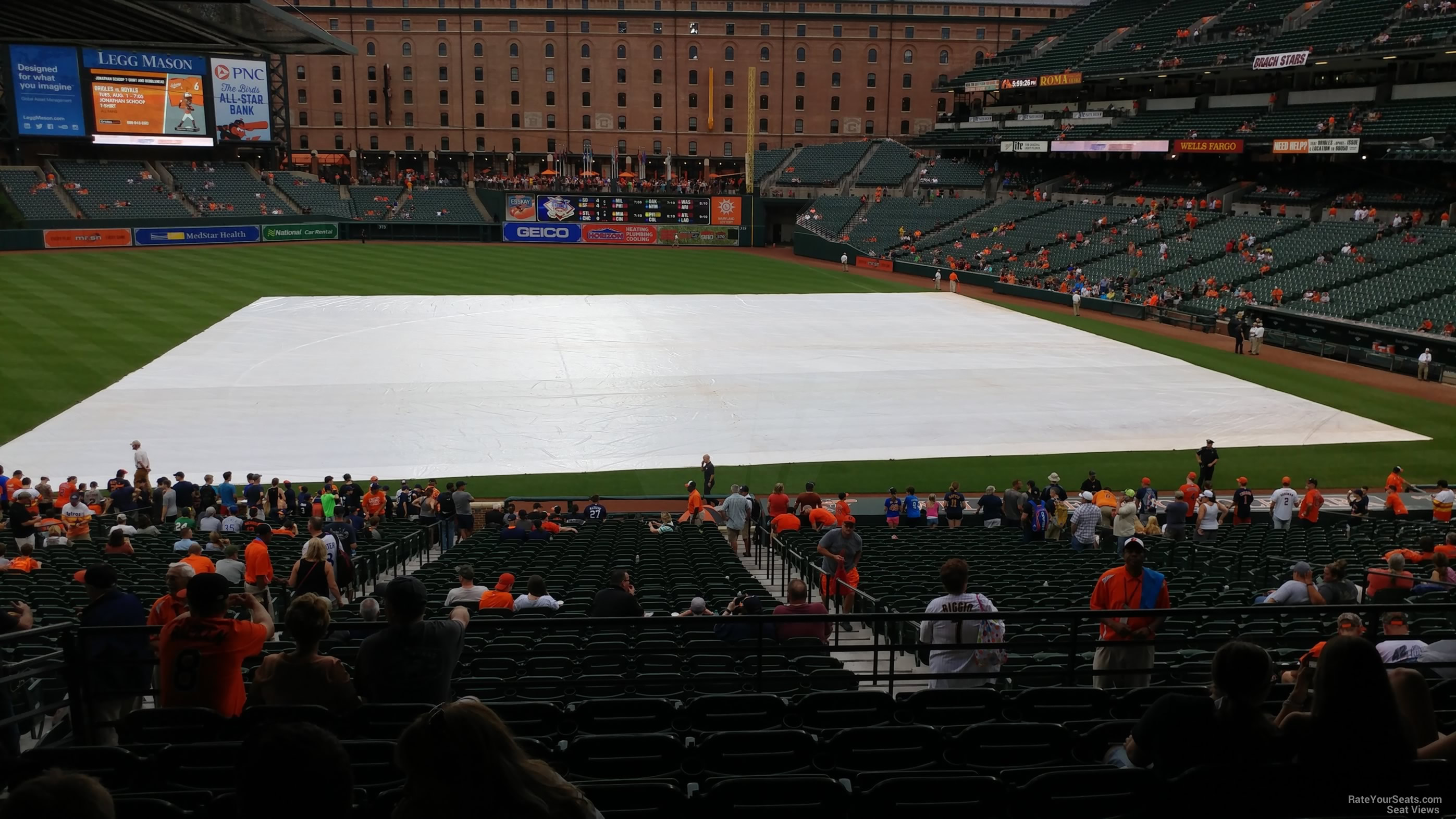 oriole park section 53 - rateyourseats