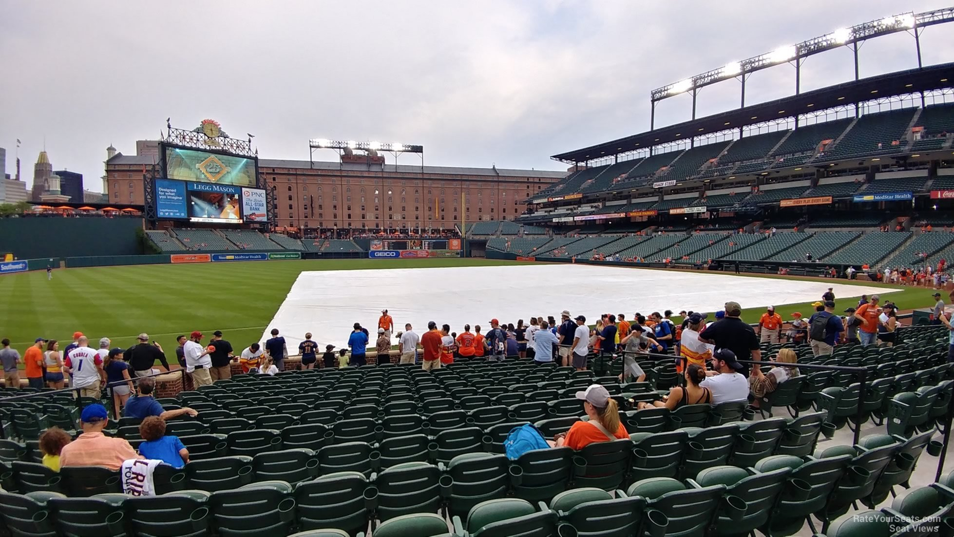 Seat View for Oriole Park Section 58, Row 15