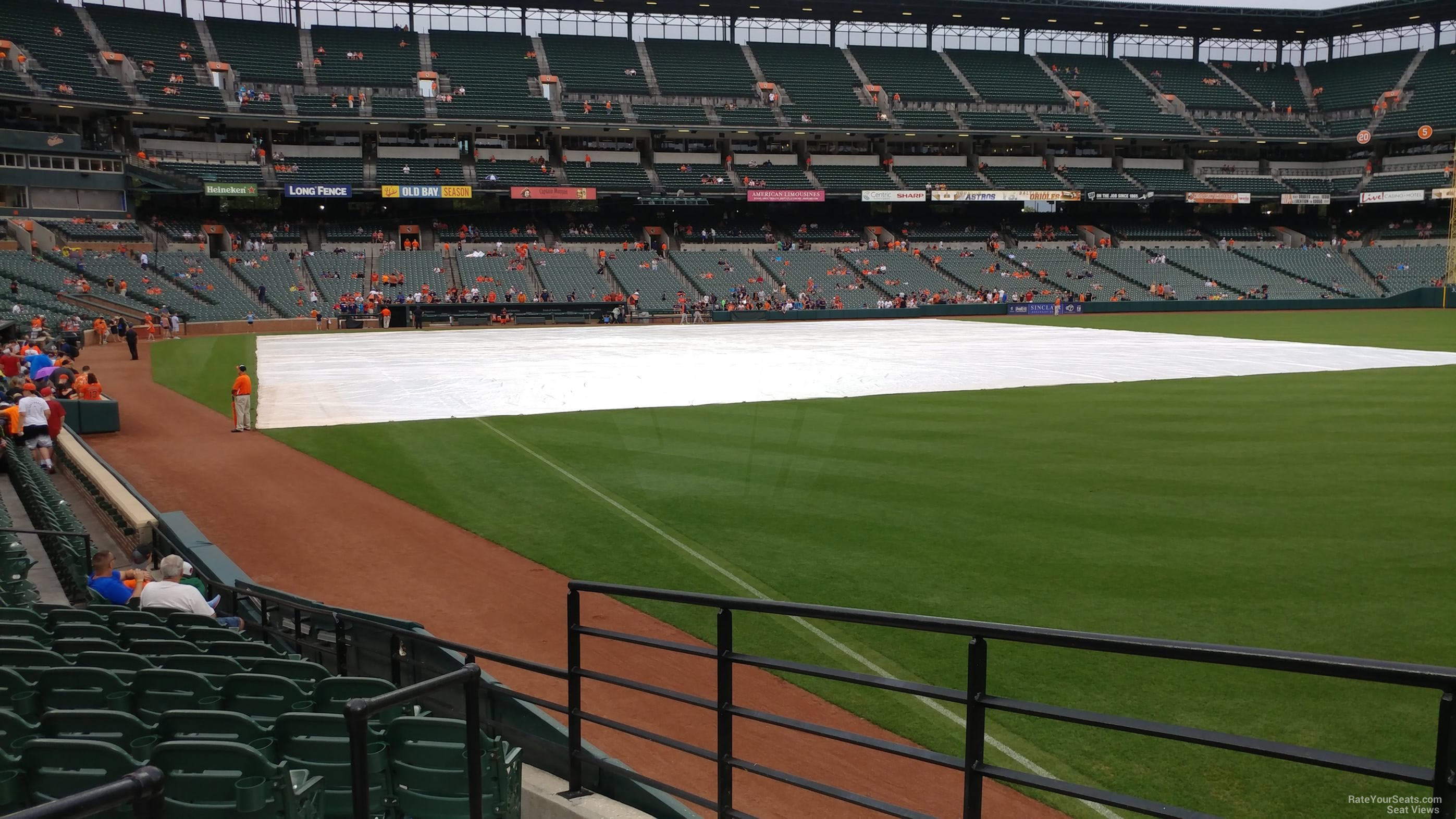 Seat View for Oriole Park Section 6, Row 15