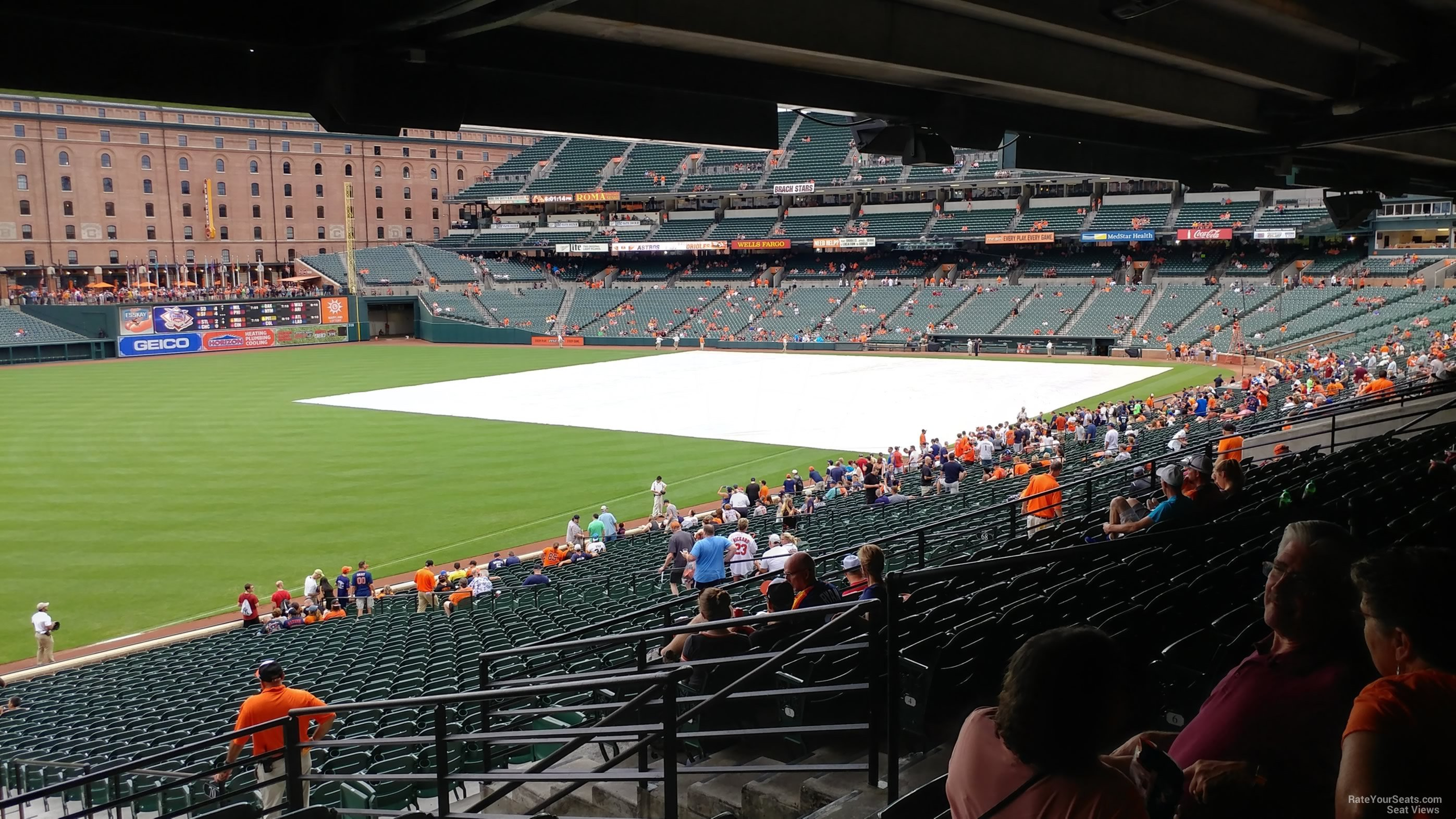 Oriole Park Section 69 Rateyourseats Com