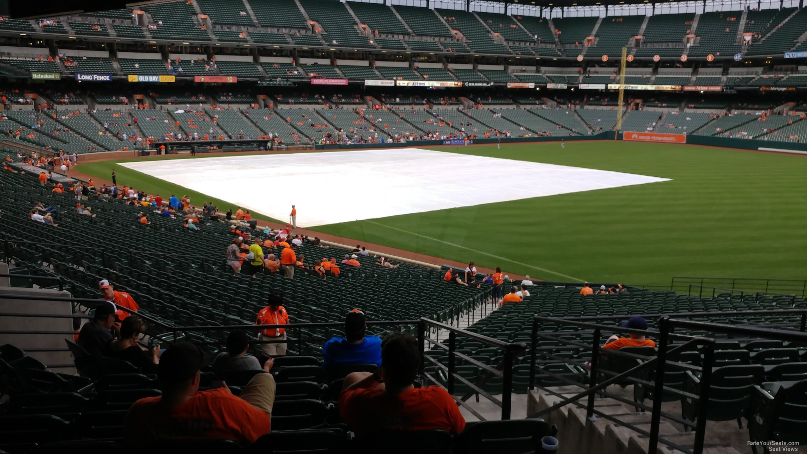 Oriole Park Section 9 Rateyourseats Com