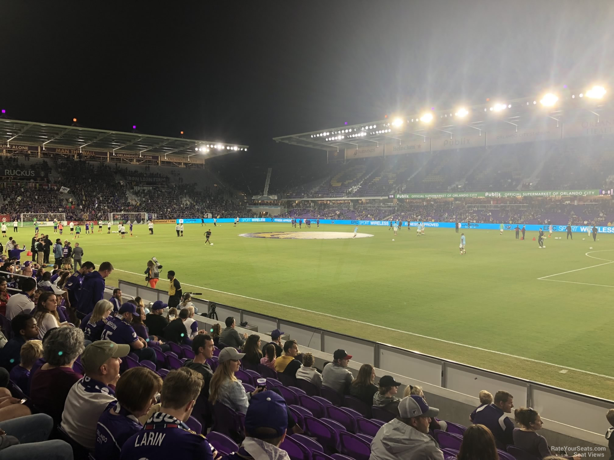 Soccer Seat View for Exploria Stadium Section 11, Row J