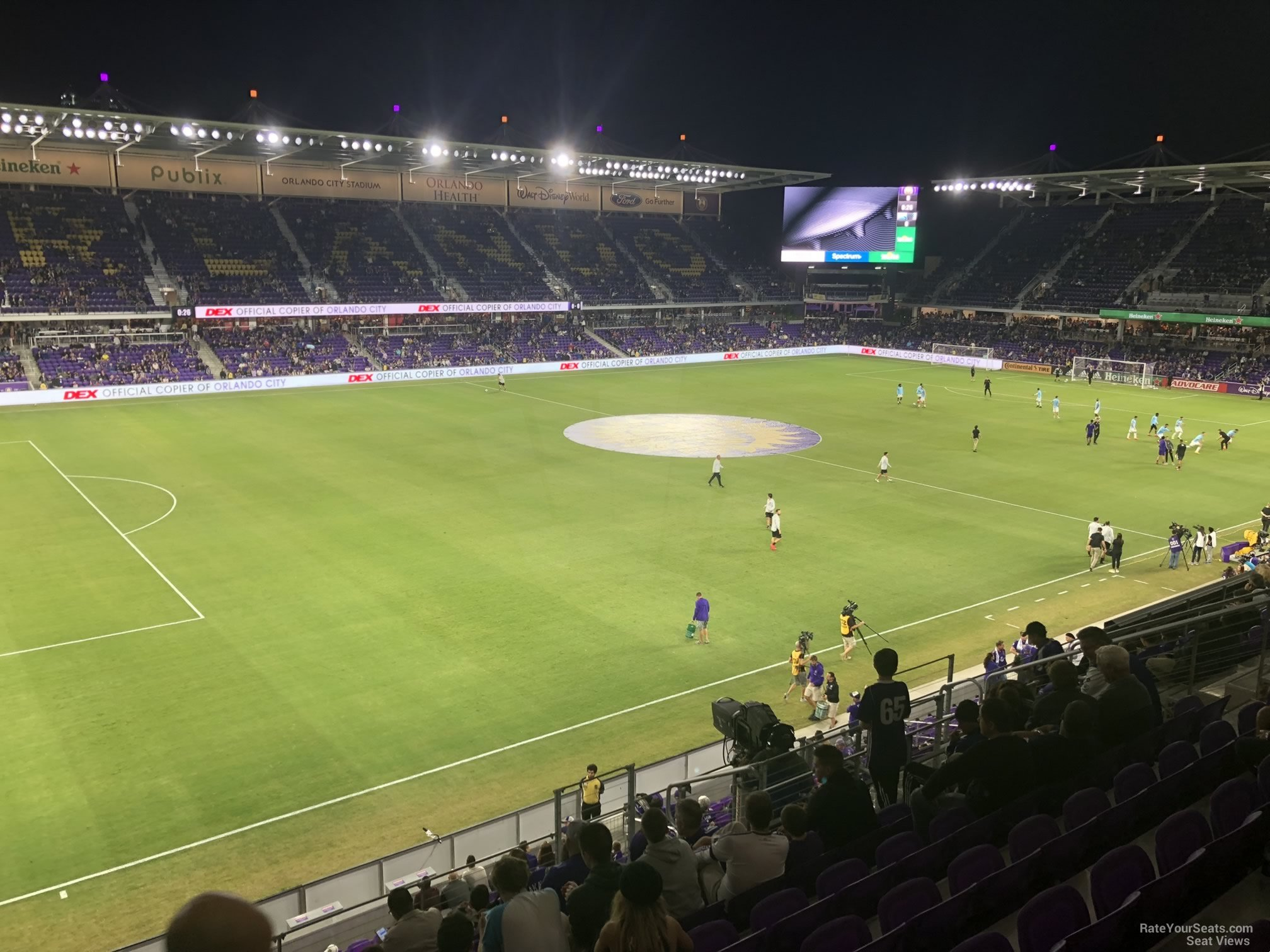 Soccer Seat View for Exploria Stadium Section 119, Row K