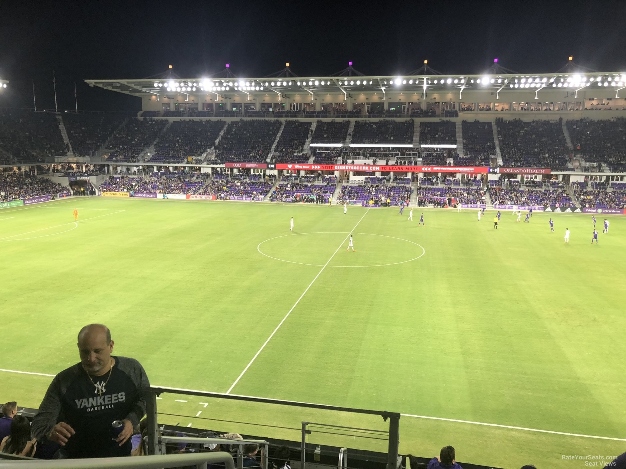 Section 133 seat view