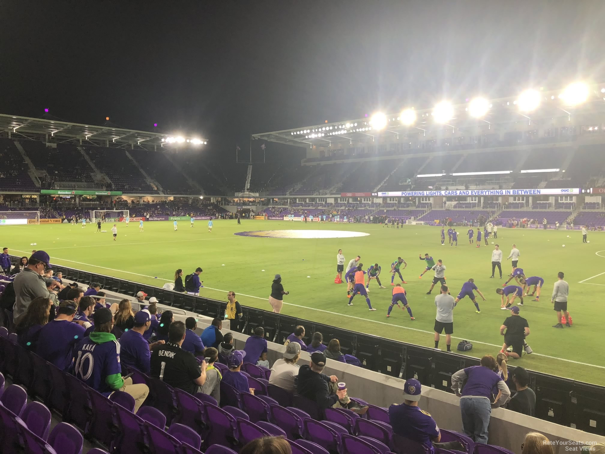 Soccer Seat View for Exploria Stadium Section 31, Row N