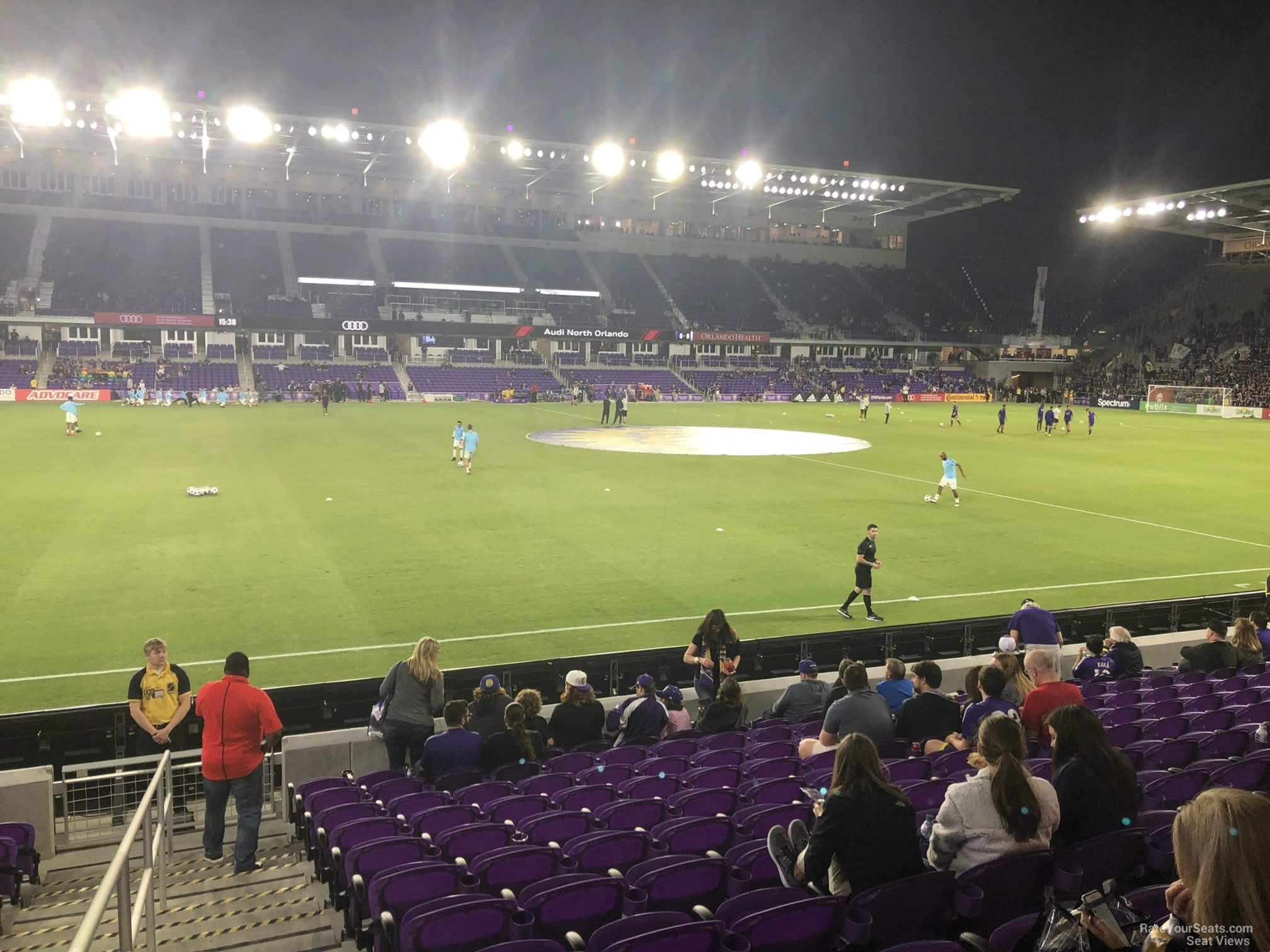Soccer Seat View for Exploria Stadium Section 35, Row P
