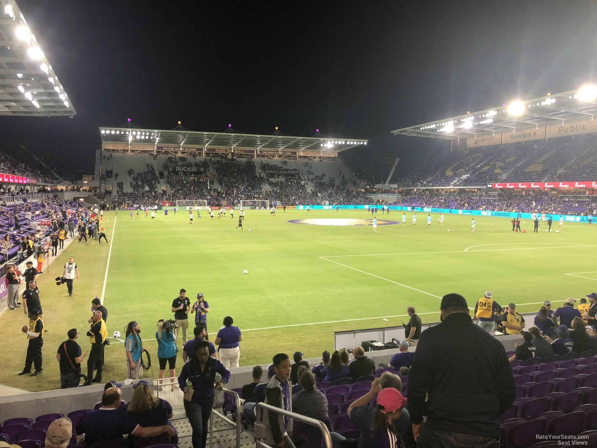 Section 7 seat view