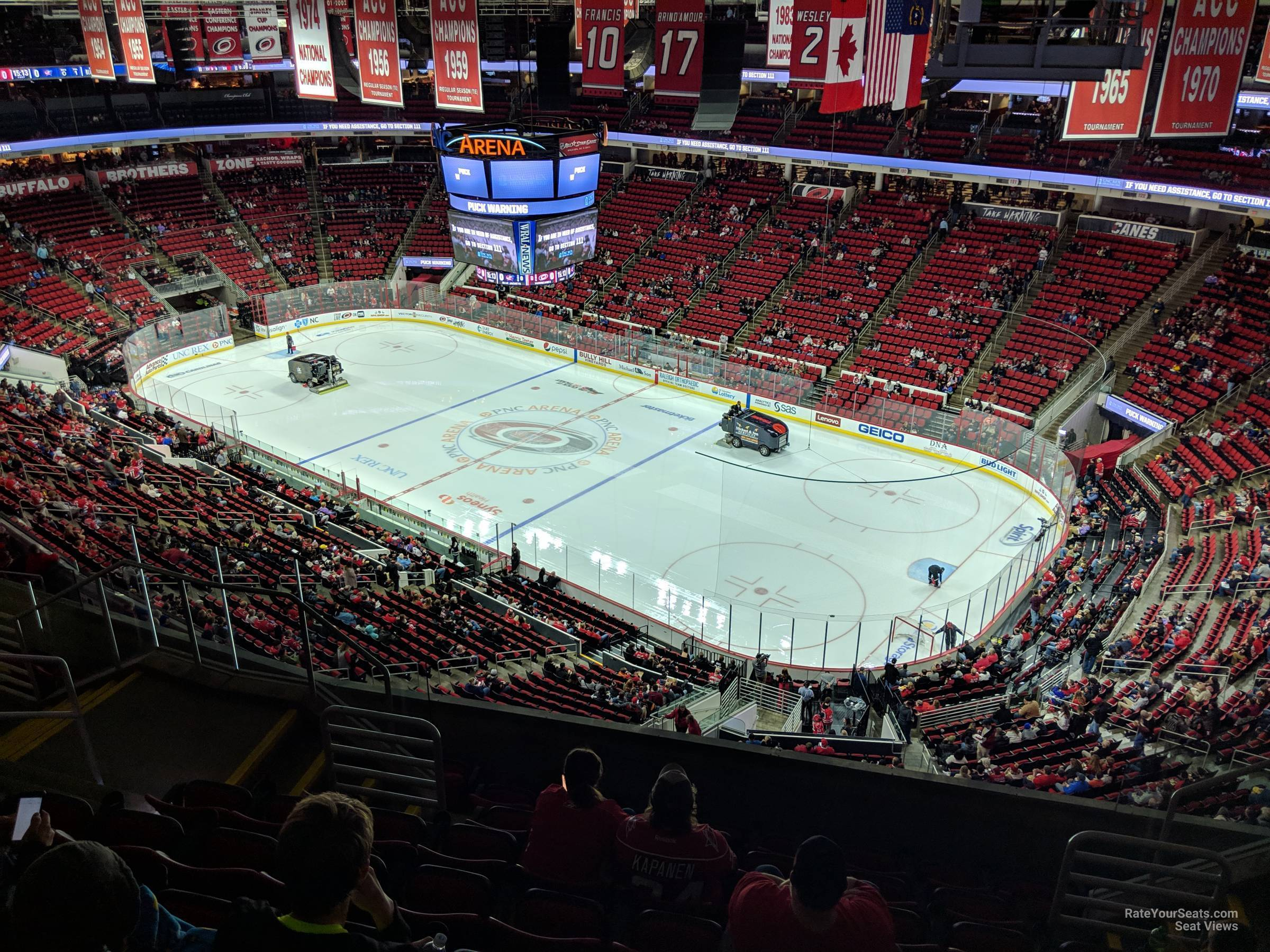 Section 338 seat view