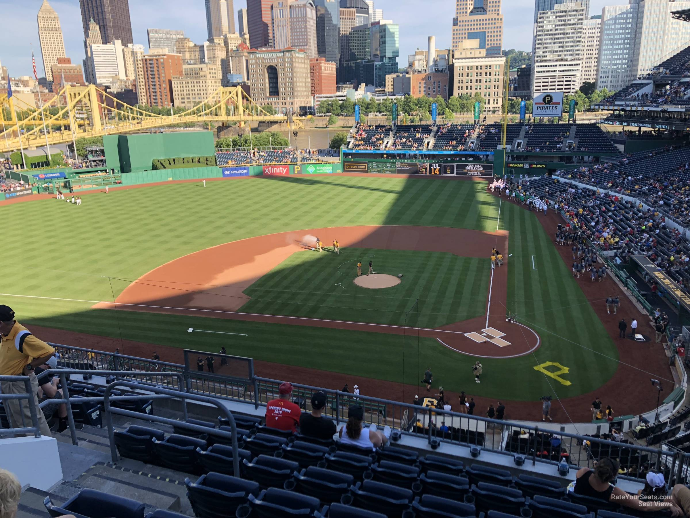 Seat View for PNC Park Section 220, Row H