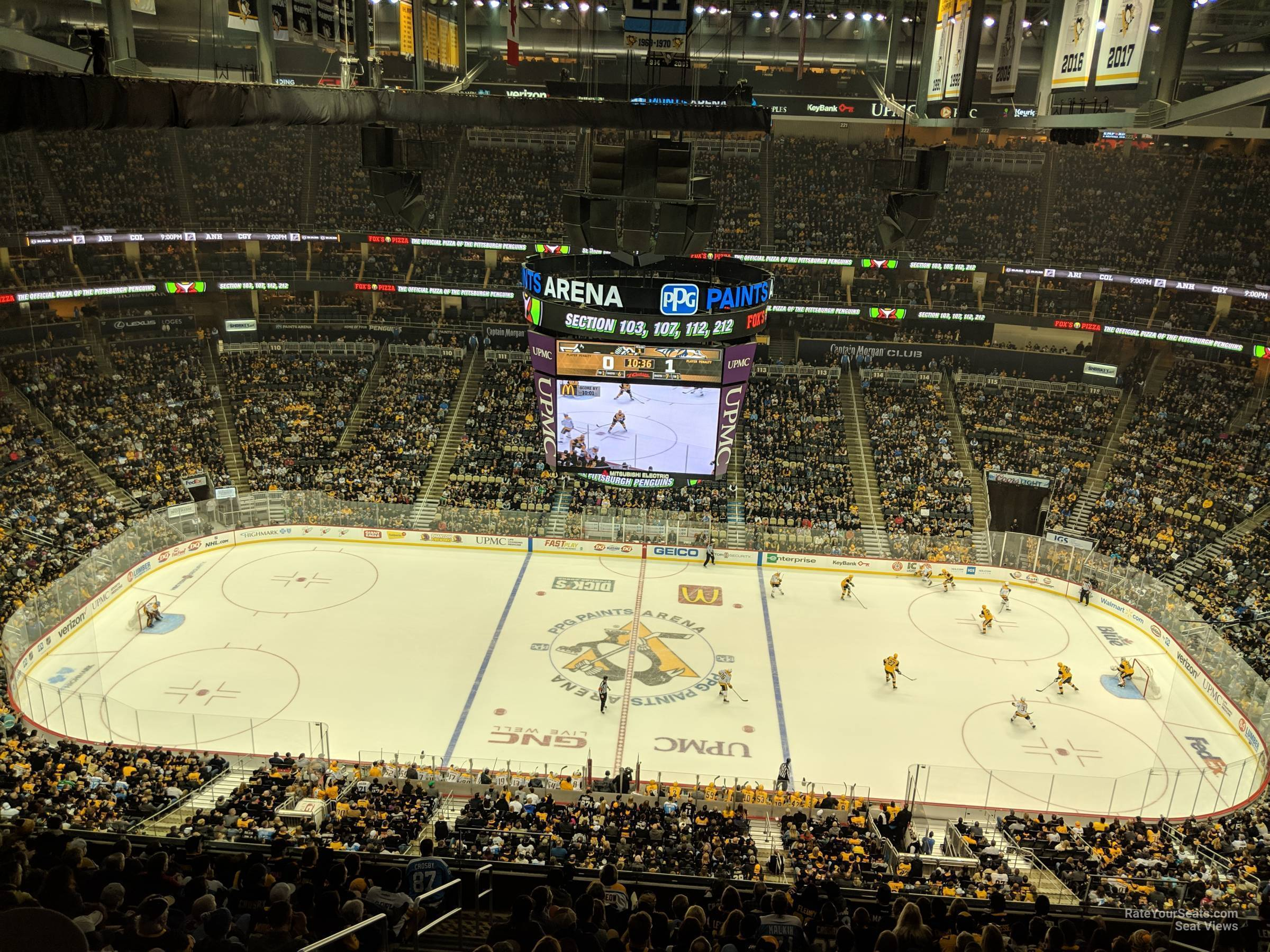 Section 202 seat view